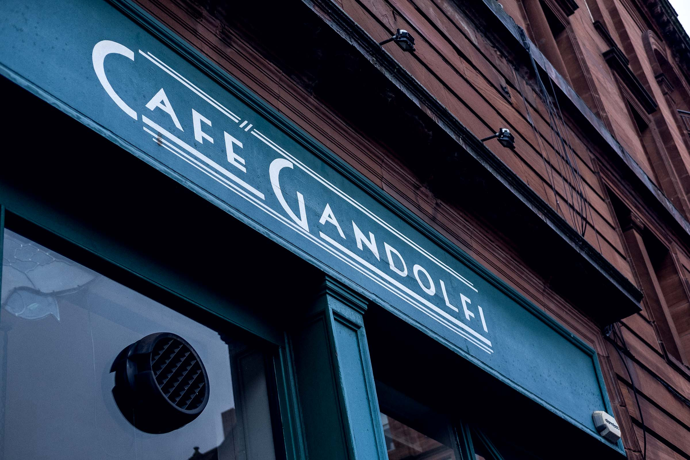 City Guide: Off Duty in Glasgow - where to eat - cafe gandolfi