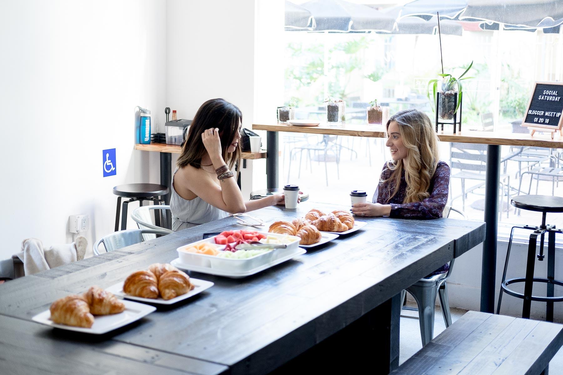 Rachel Off Duty: Women Networking at Cuppa Cuppa Coffee Shop