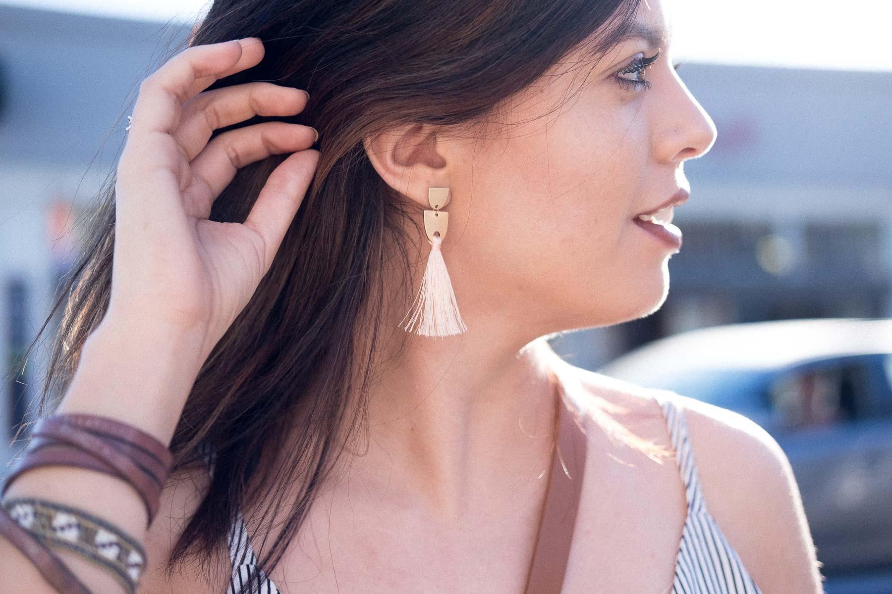 Rachel Off Duty: How to Start Networking - Fringe Earrings