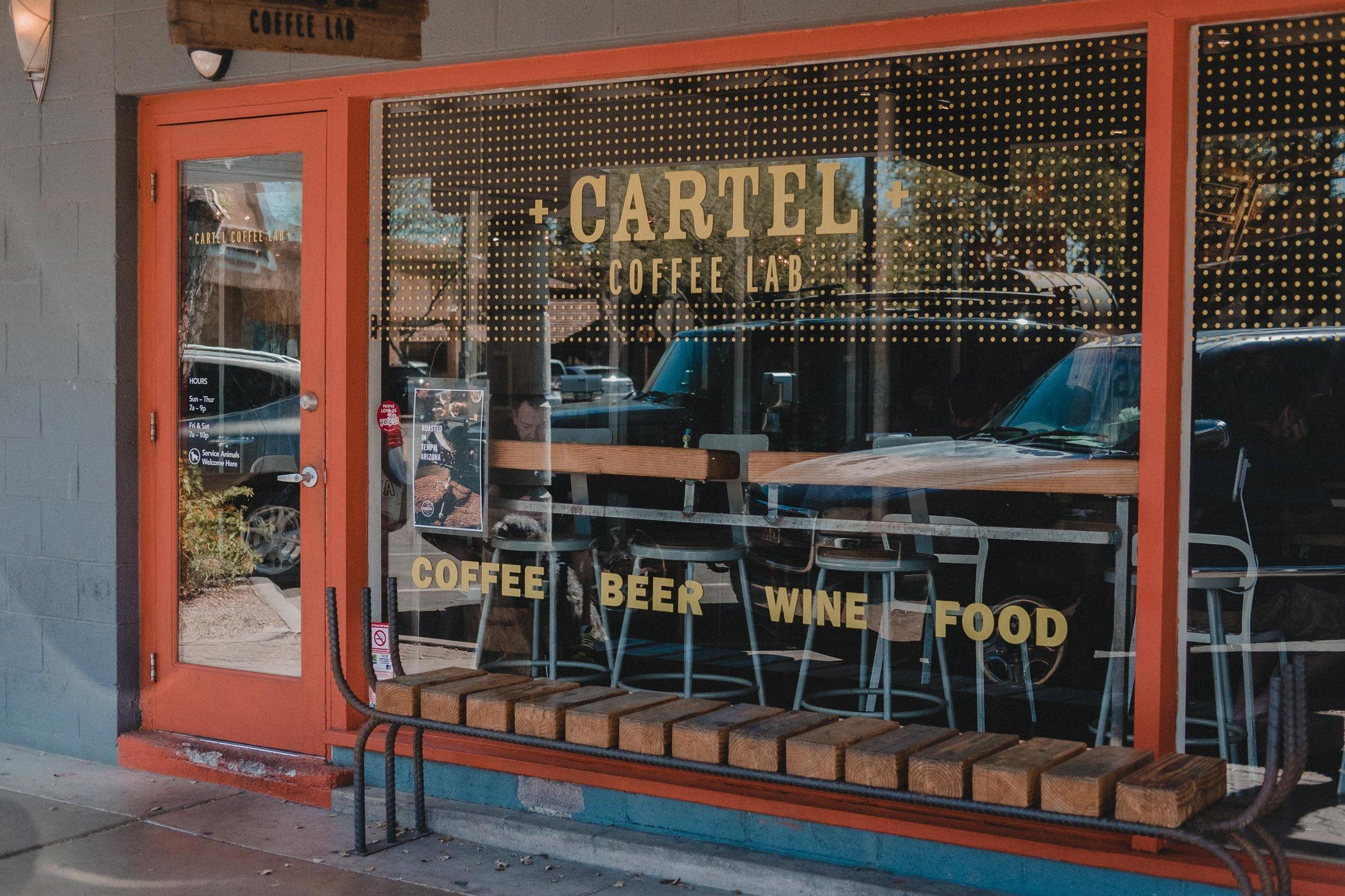 Rachel Off Duty: Cartel Coffee Lab