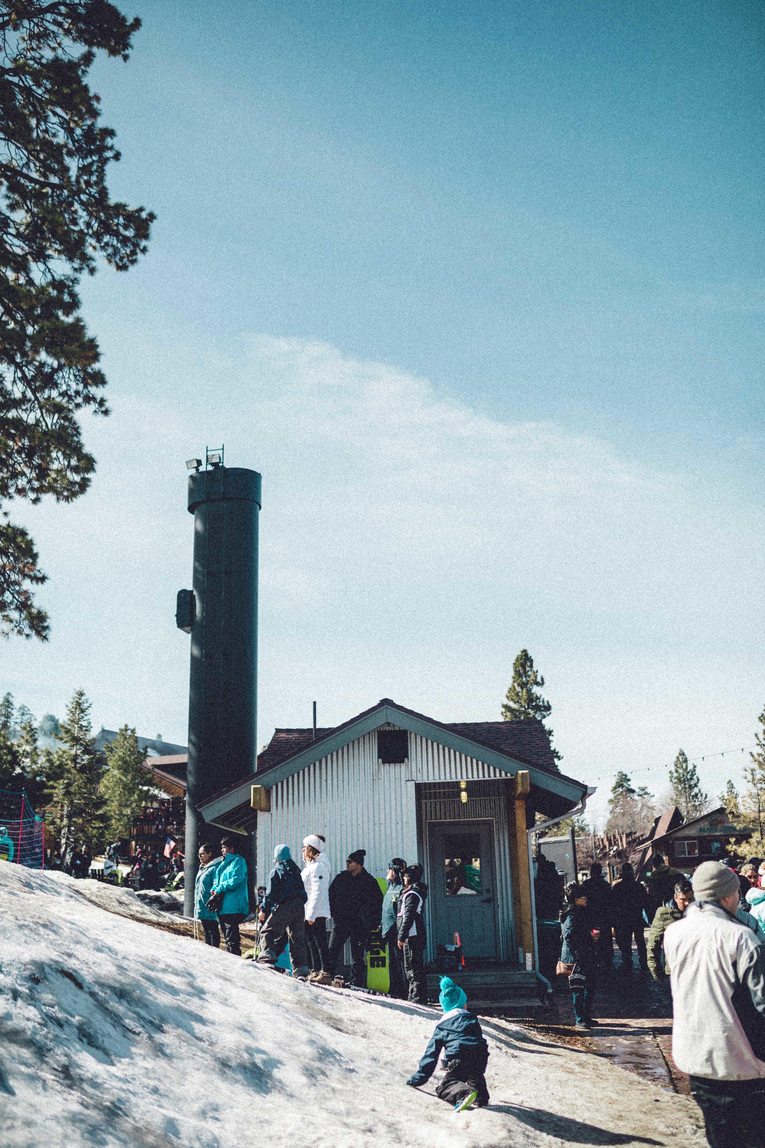 Rachel Off Duty: Big Bear Ski Slopes