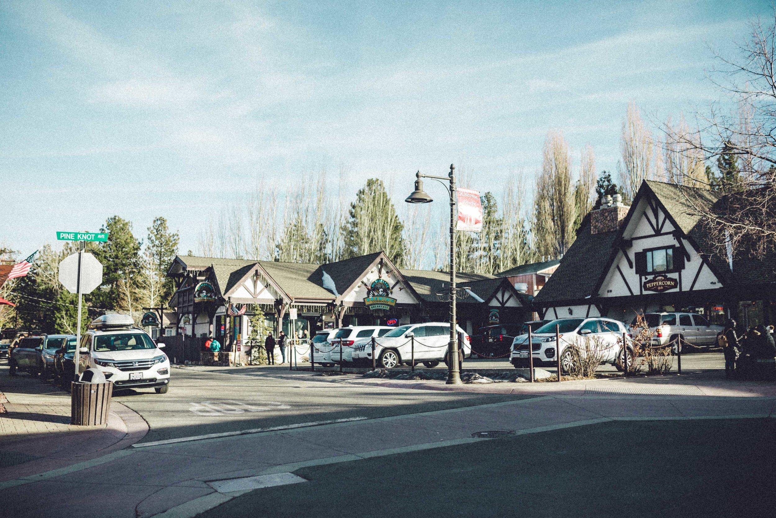 Rachel Off Duty: Big Bear Town