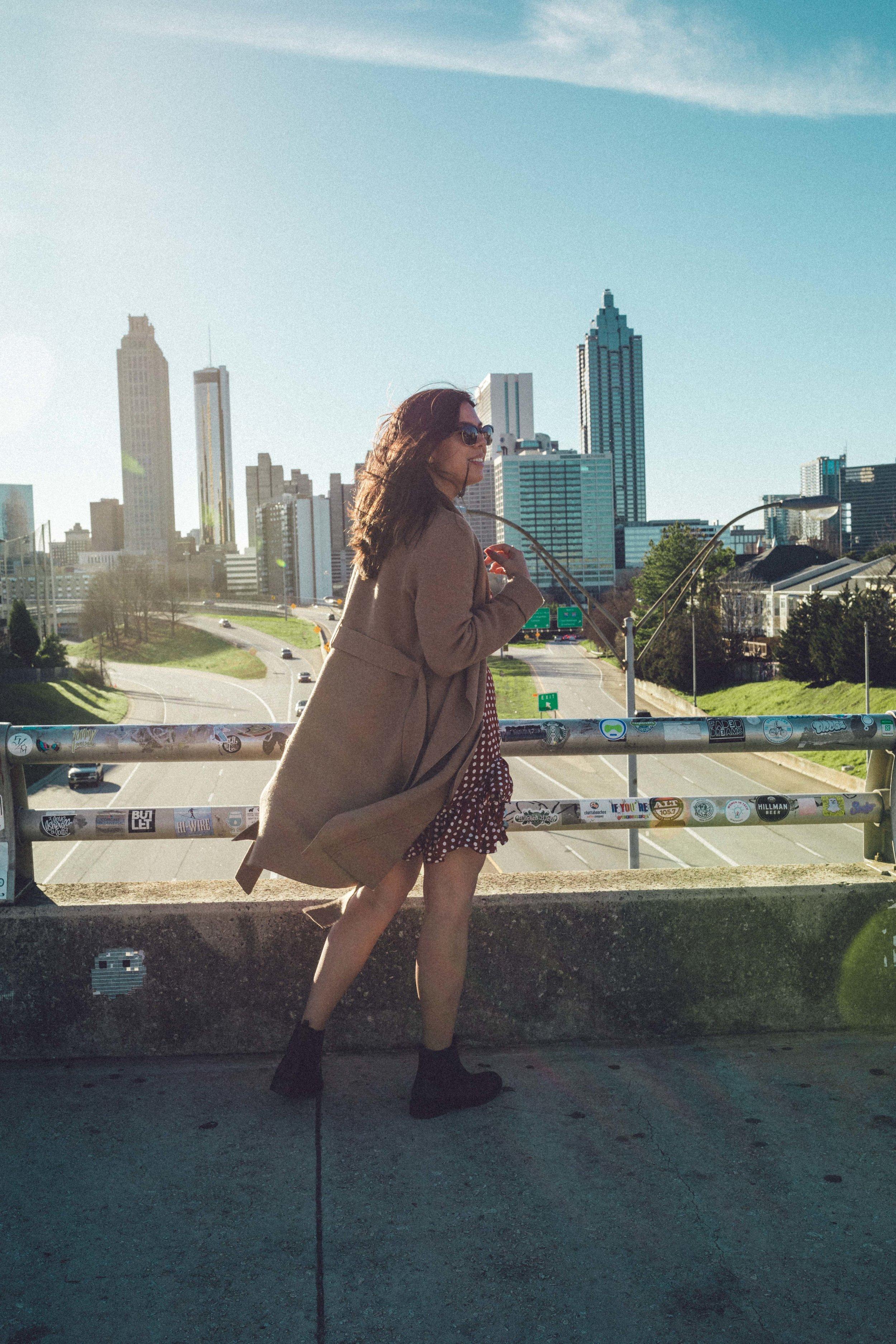 Rachel Off Duty: 48 Hours to Fall in Love with Atlanta, Georgia - City Guide - Jackson Street Bridge