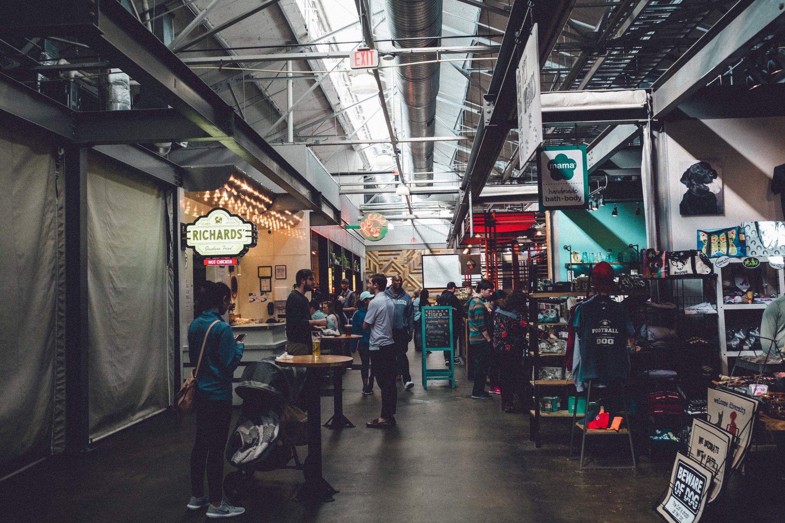 Rachel Off Duty: 48 Hours to Fall in Love with Atlanta, Georgia - City Guide - Krog Street Market