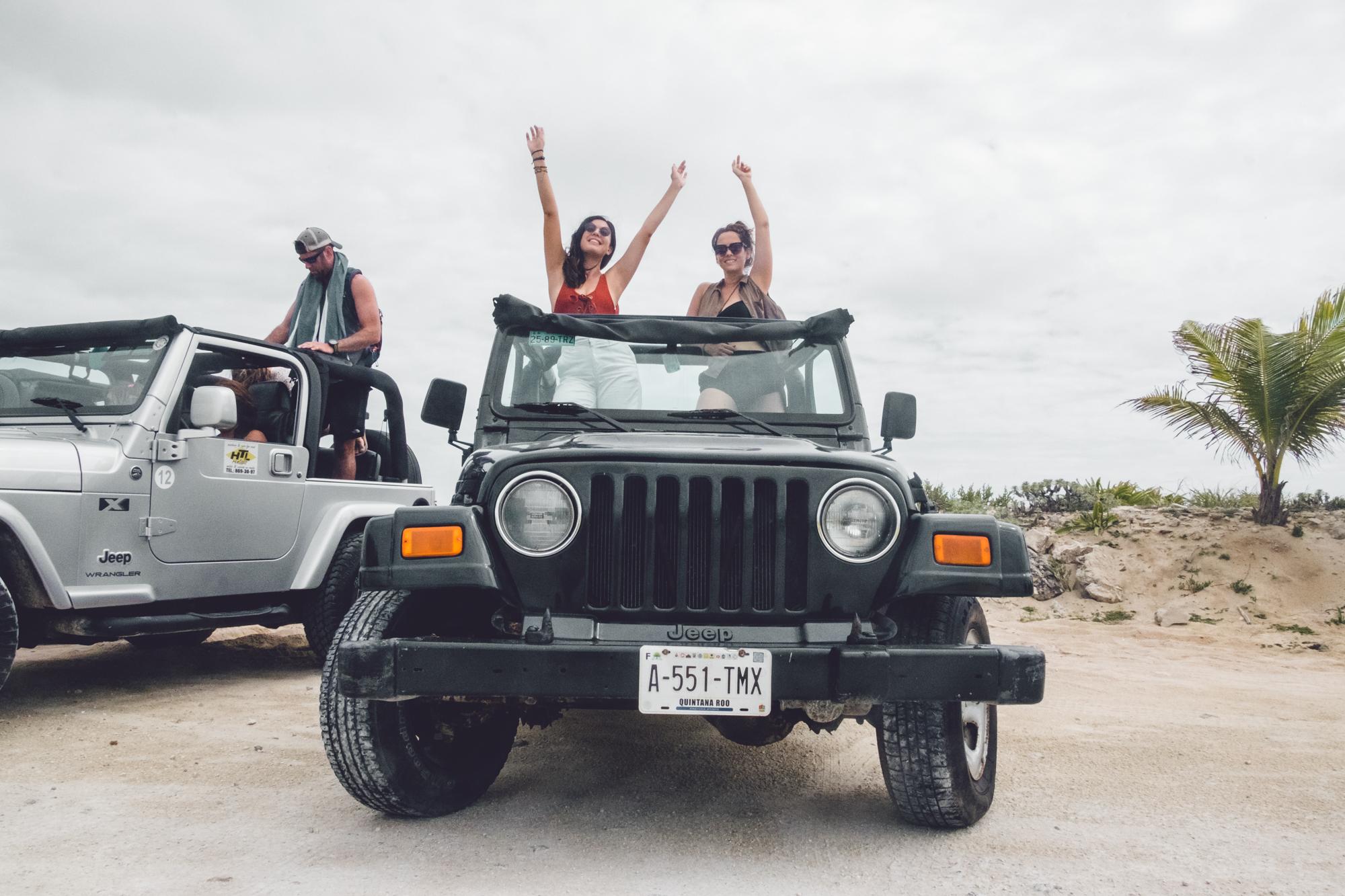 Rachel Off Duty: Women on a Jeep