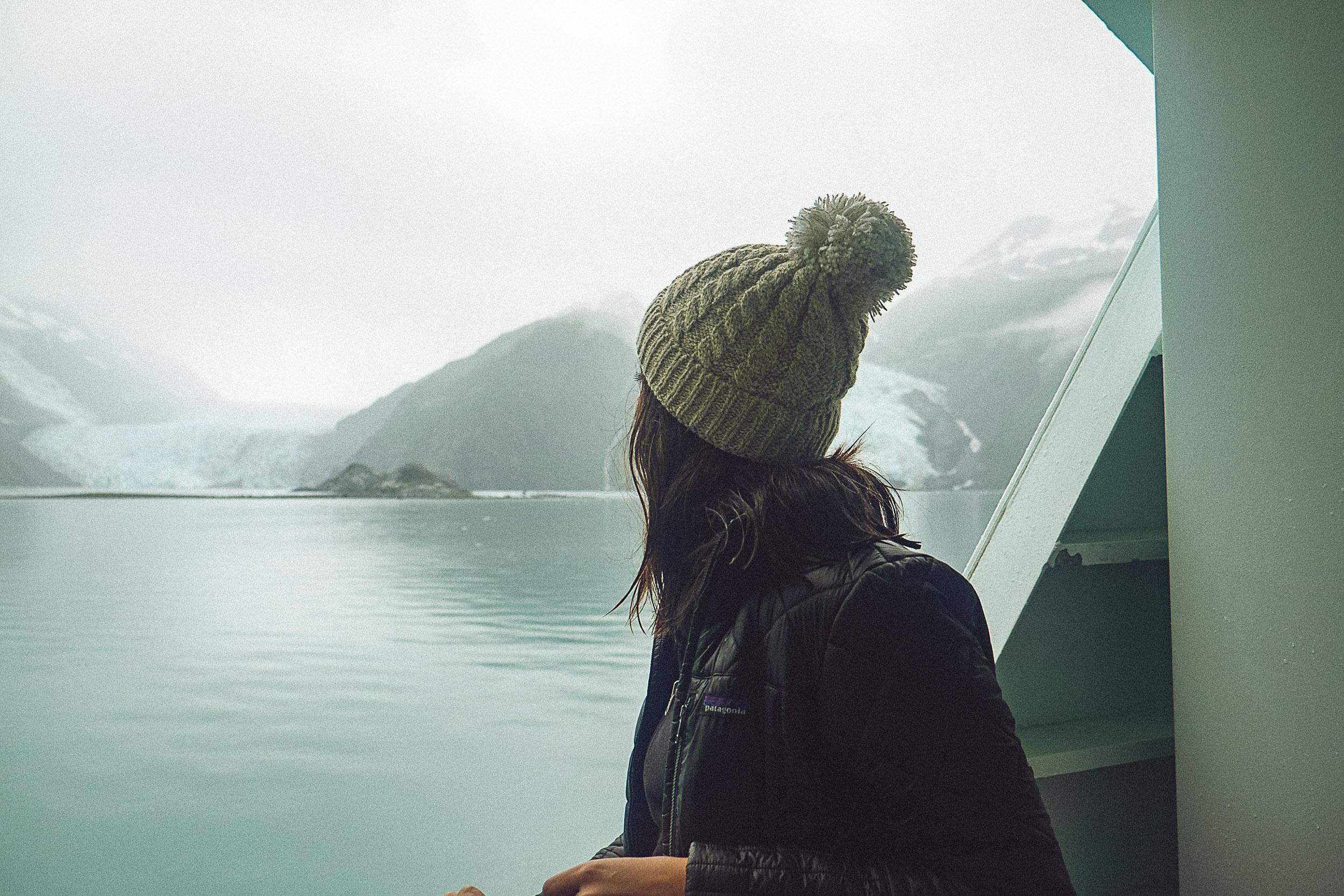 Rachel Off Duty: Woman in Alaska