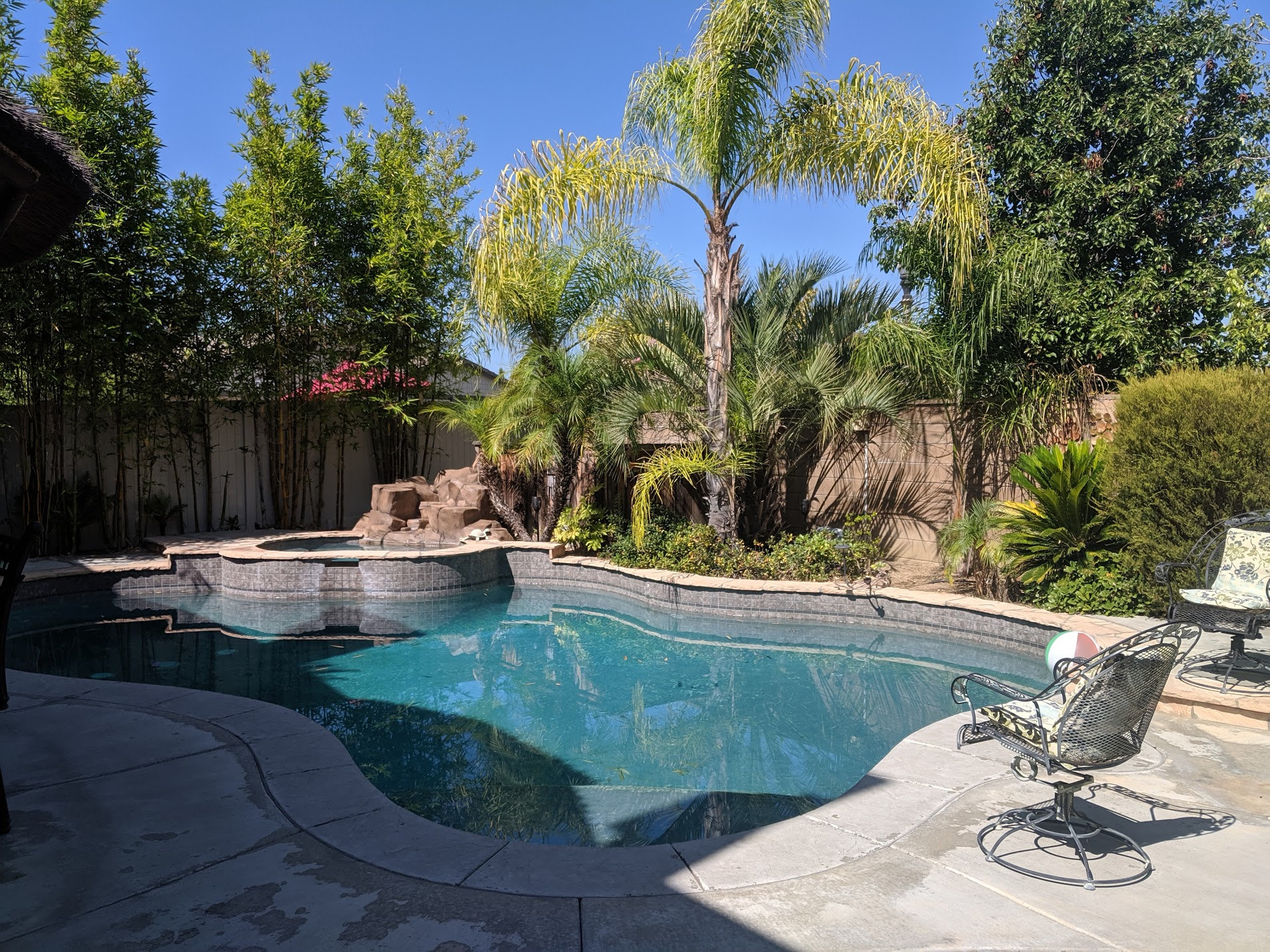 Spectacular Temecula Oasis in Wine Country - Temecula, CaliforniaType: Entire HouseBeds: 1 king, 2 queens, 2 doubles, 1 bunk bed (sleeps 12)Cost: $$$