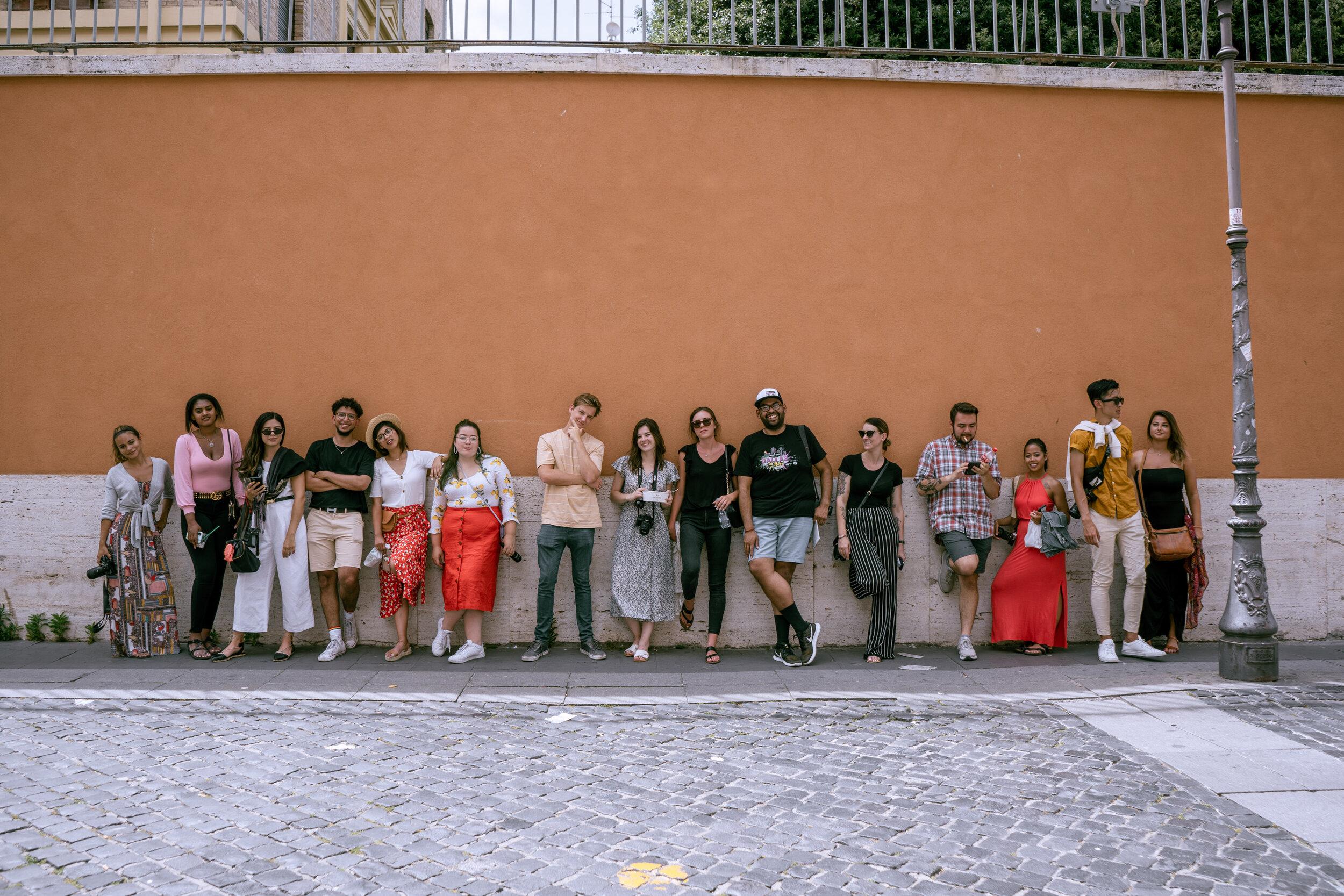 Rachel Off Duty: Traveling Group in Europe