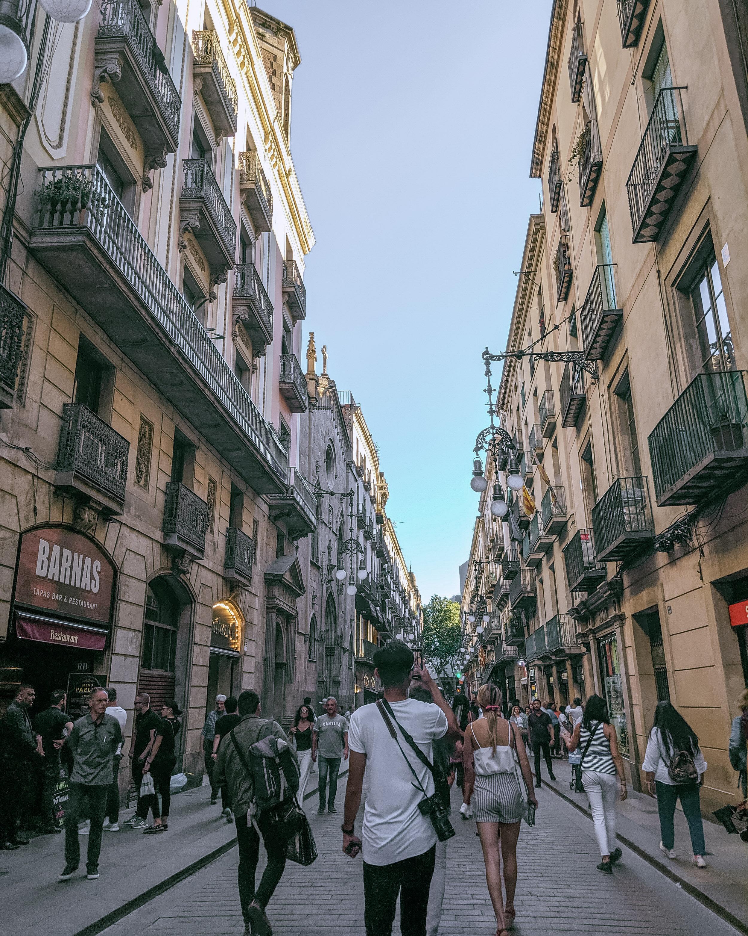 Rachel Off Duty: Street in Europe