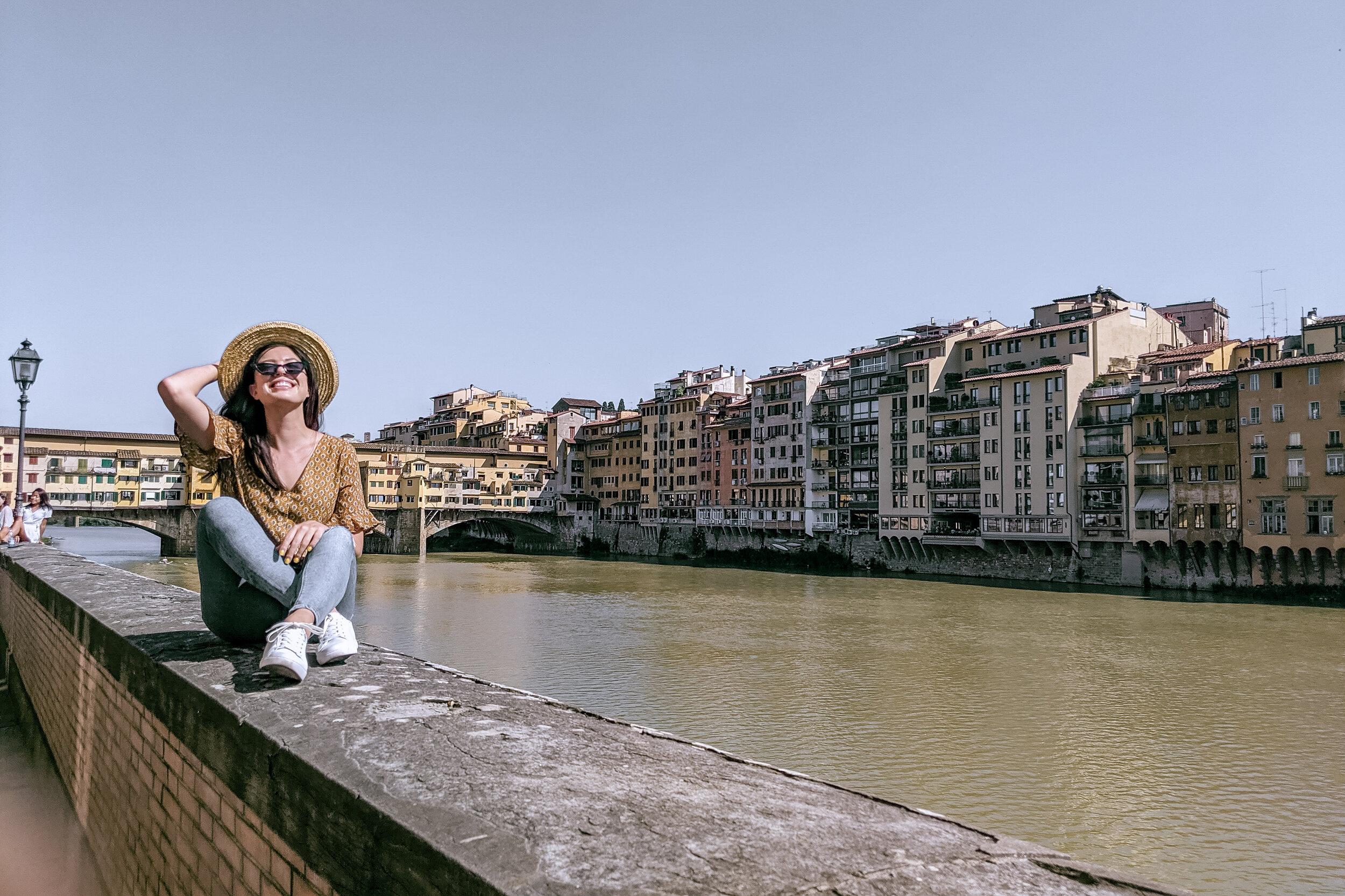 Rachel Off Duty: Woman in Florence via Pisa