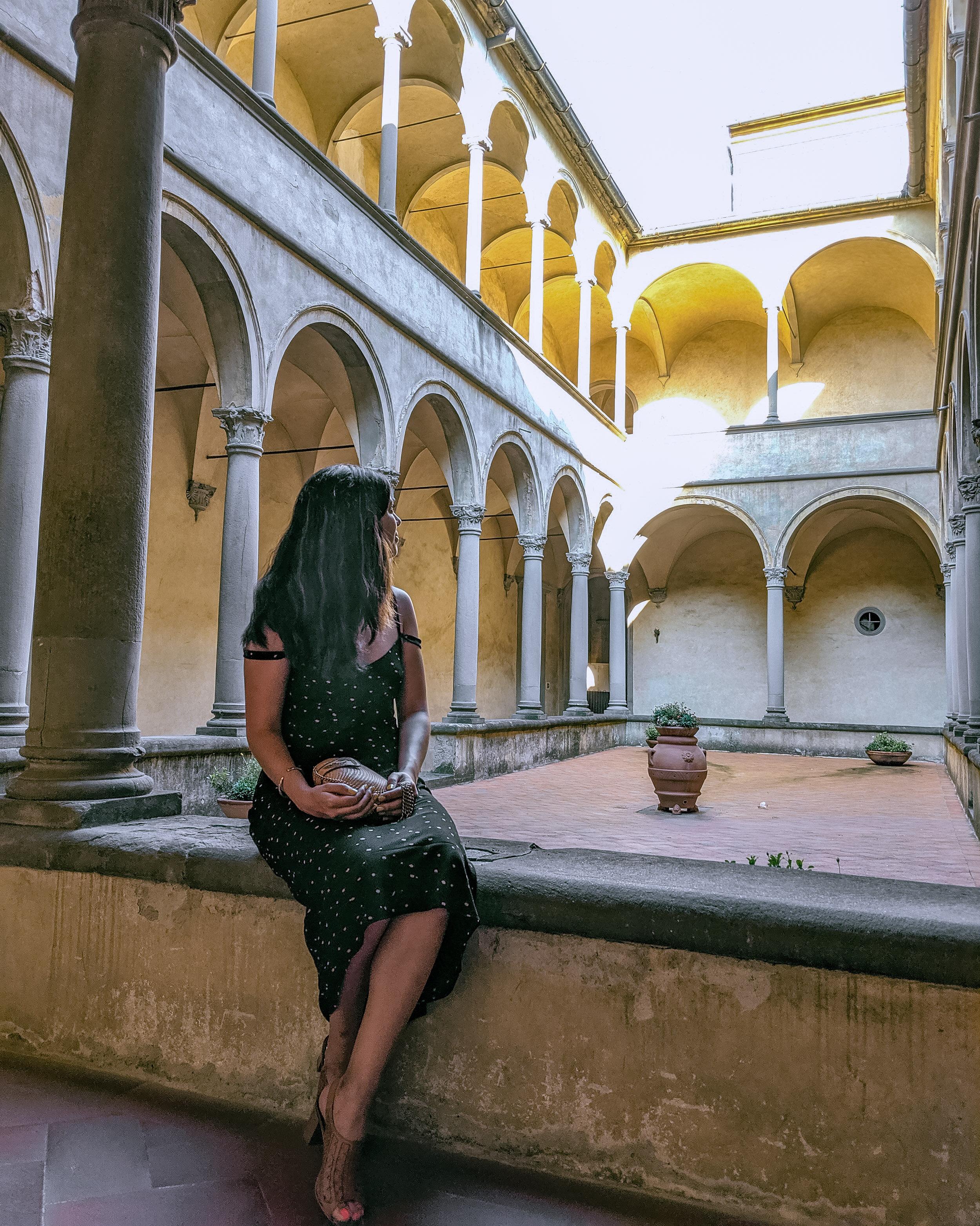 Rachel Off Duty: Woman in Florence