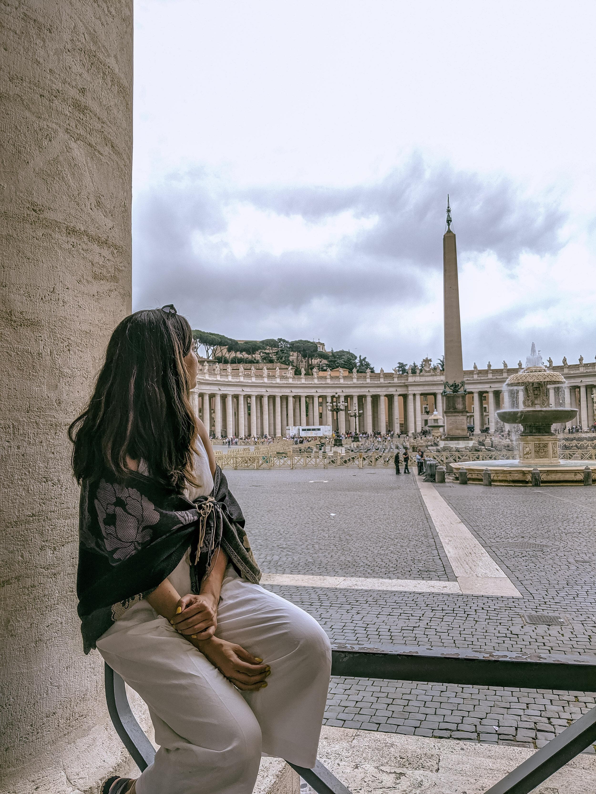 Rachel Off Duty: Woman in Sorrento
