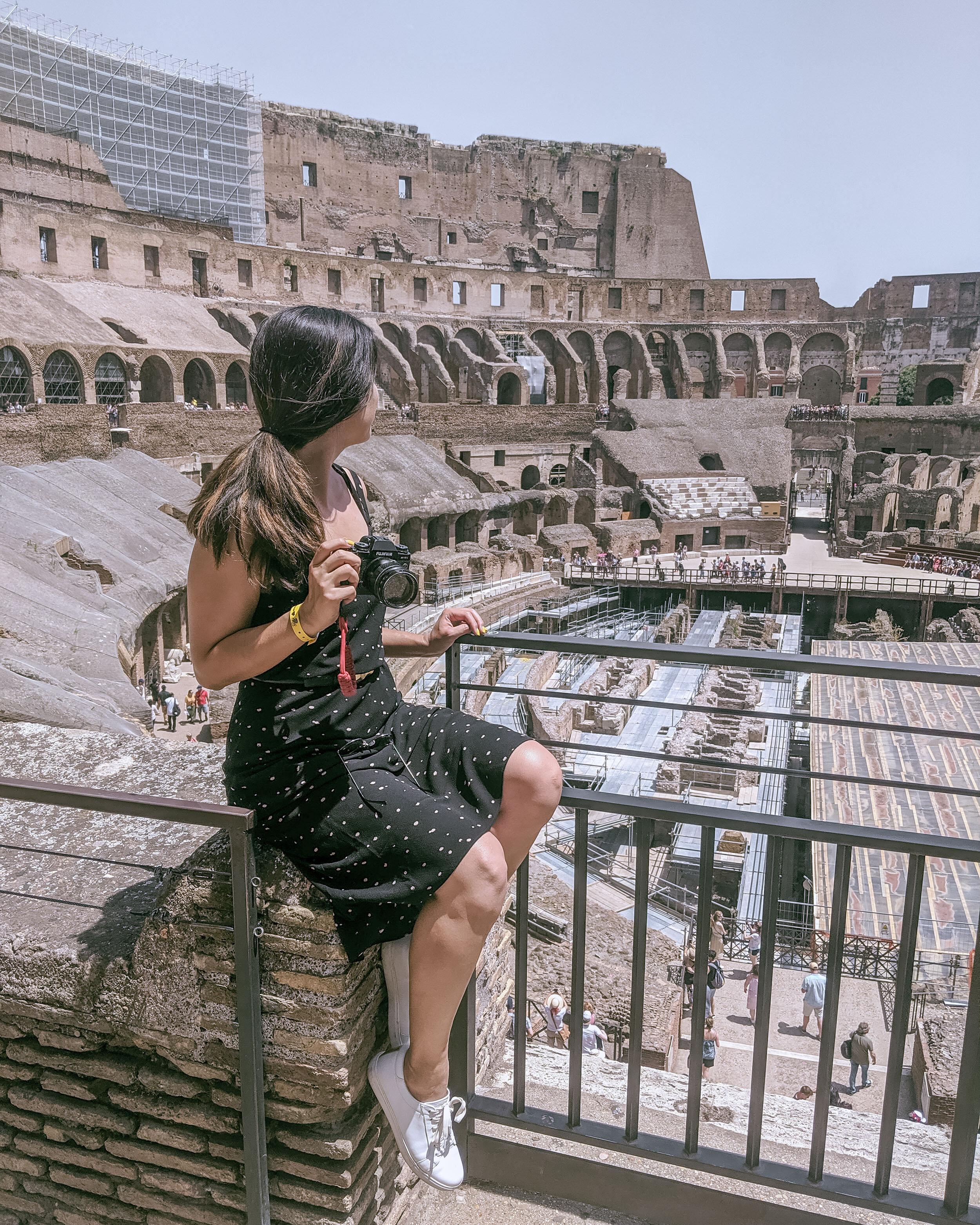 Rachel Off Duty: Woman in Rome