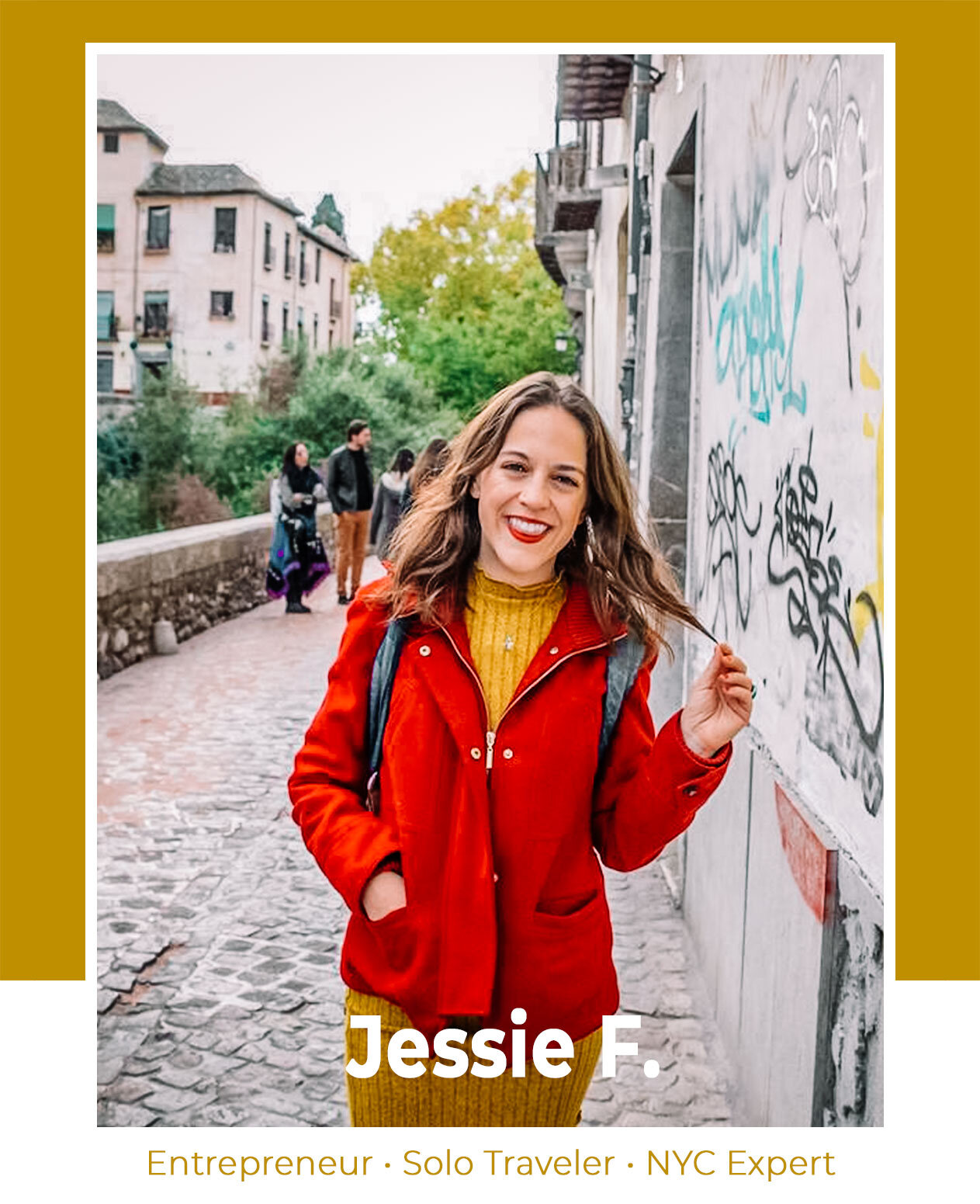 Rachel Off Duty: How These Women Travel More While Maintaining Their Careers - Episode 1 - Jessie Festa