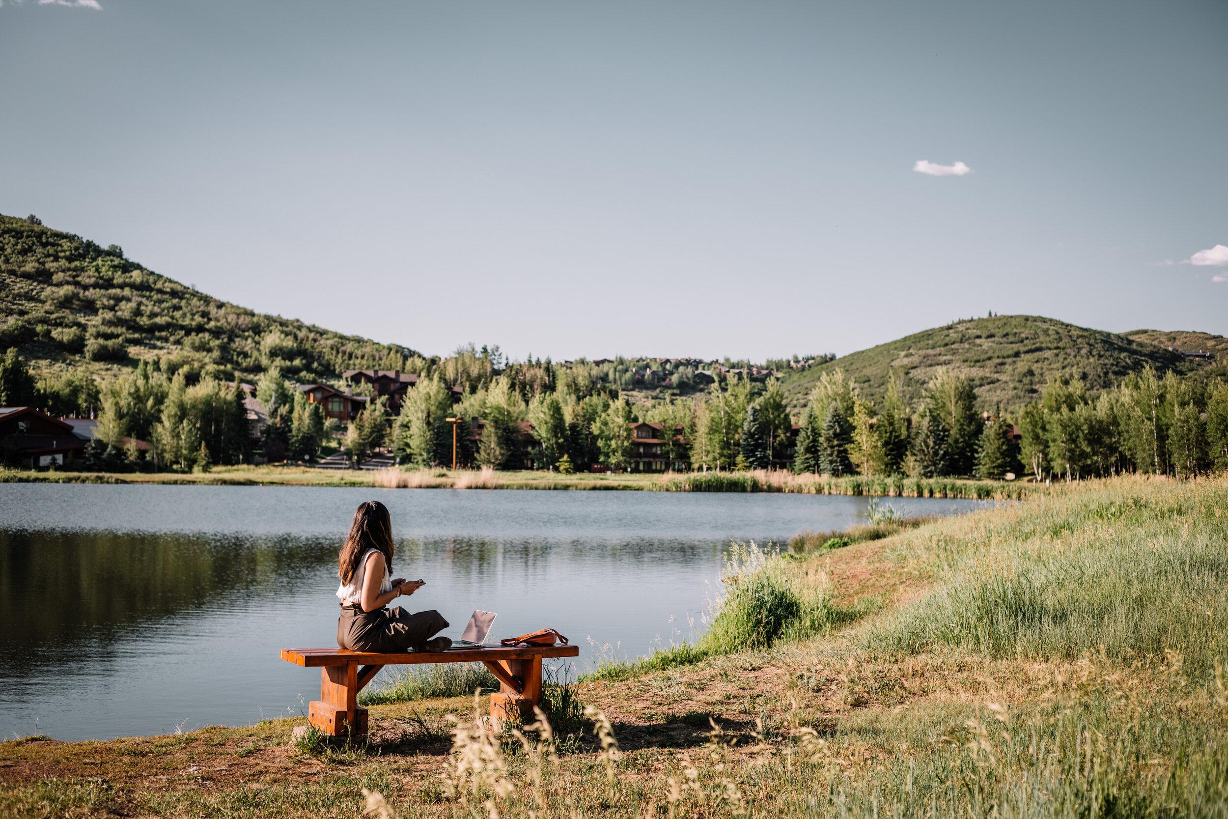 Rachel Off Duty: Woman by the Lake