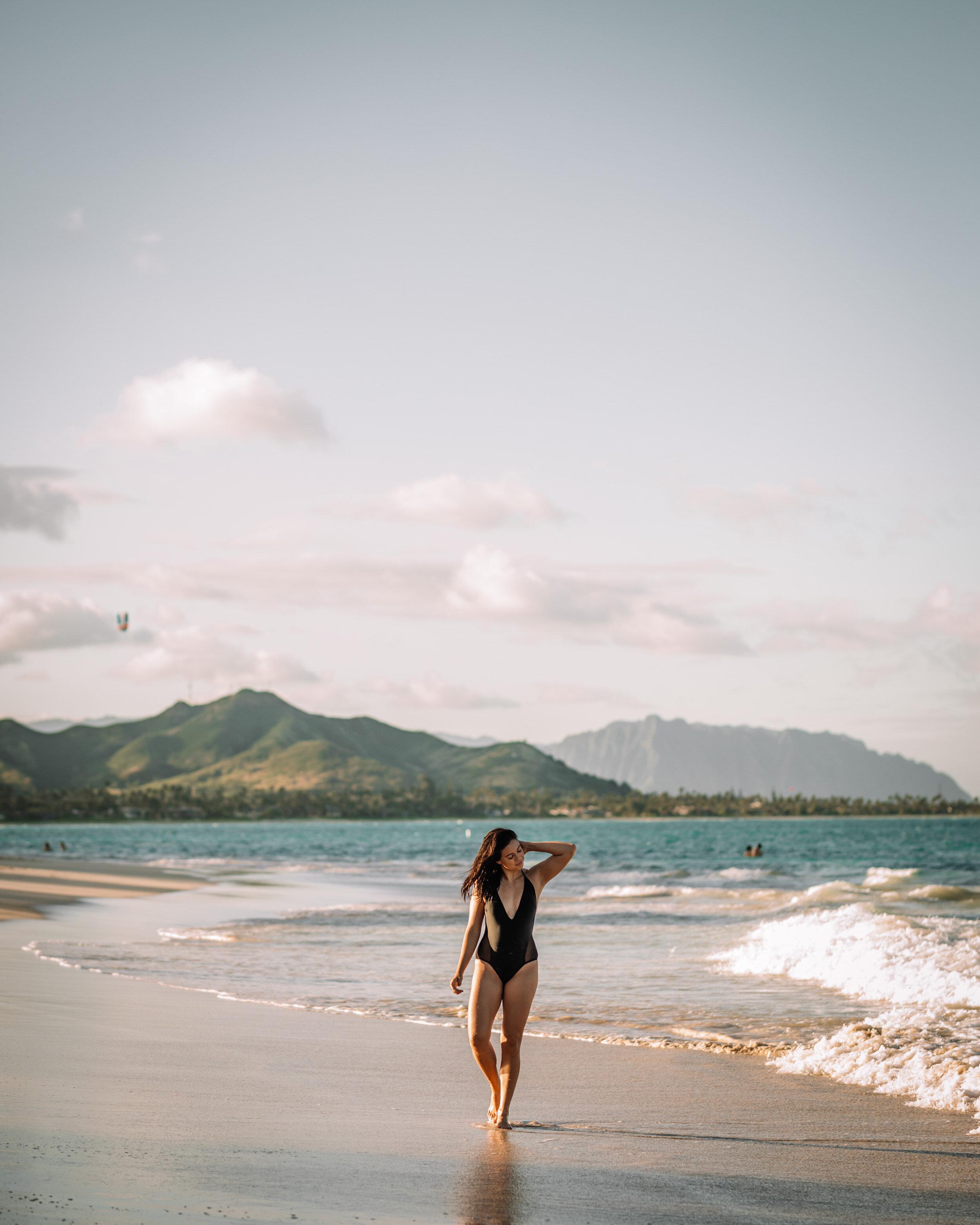Rachel Off Duty: Woman at the Beach