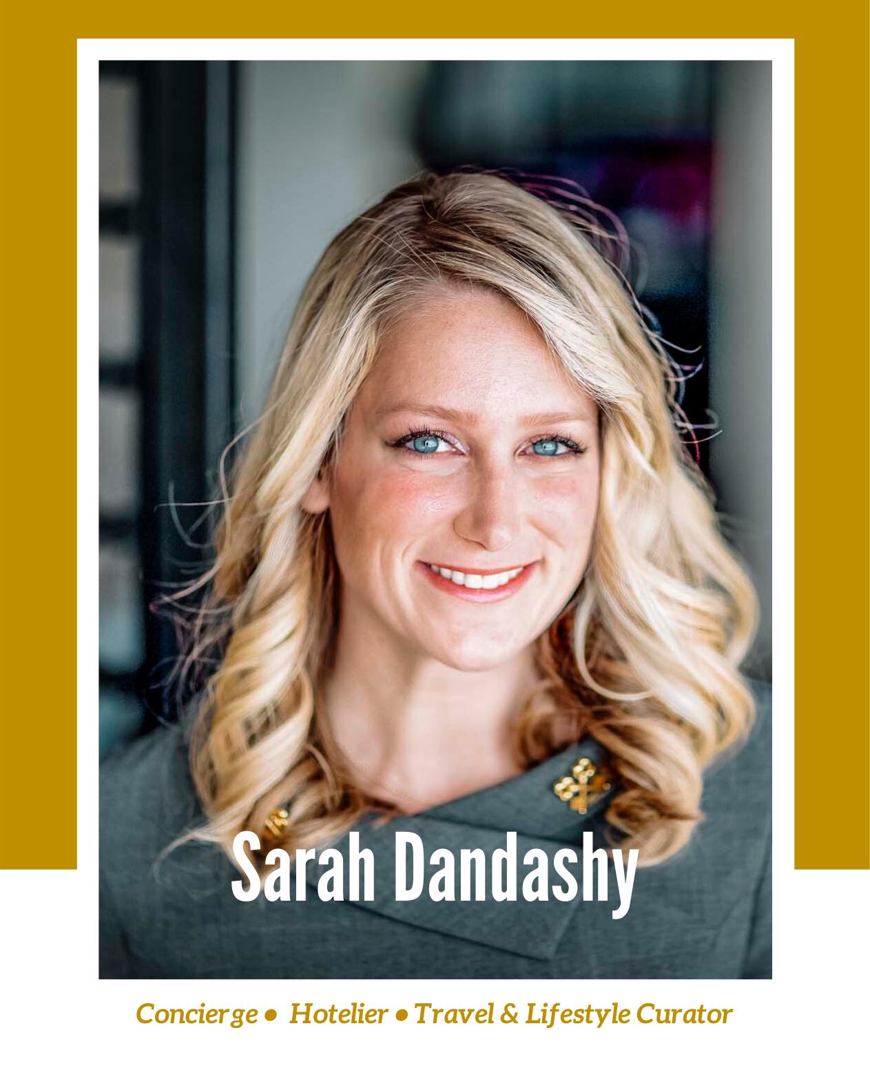 Rachel Off Duty: Stories Beyond the 9 to 5 - Episode 3 - Sarah Dandashy