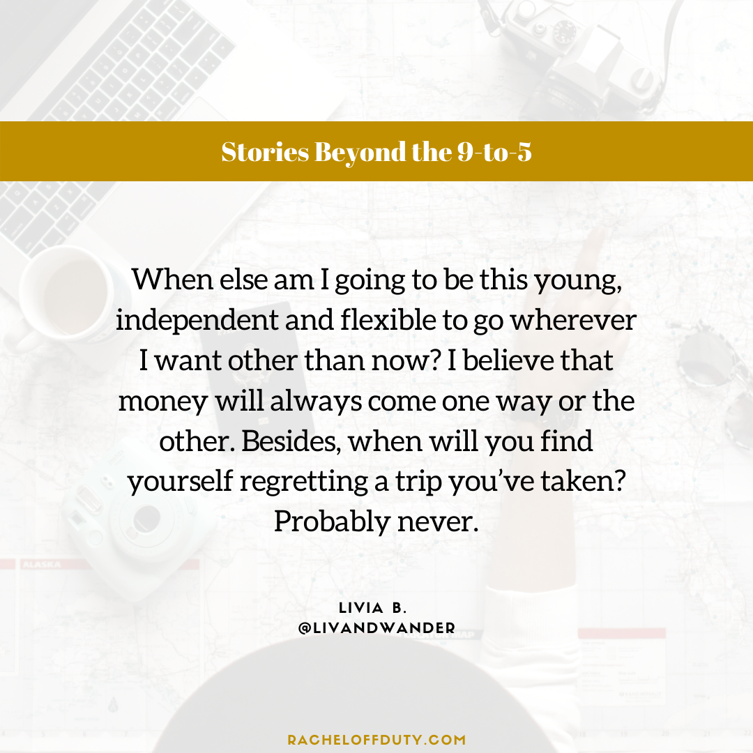 Rachel Off Duty: Stories Beyond the 9-to-5 – Episode 5 - Livia B.
