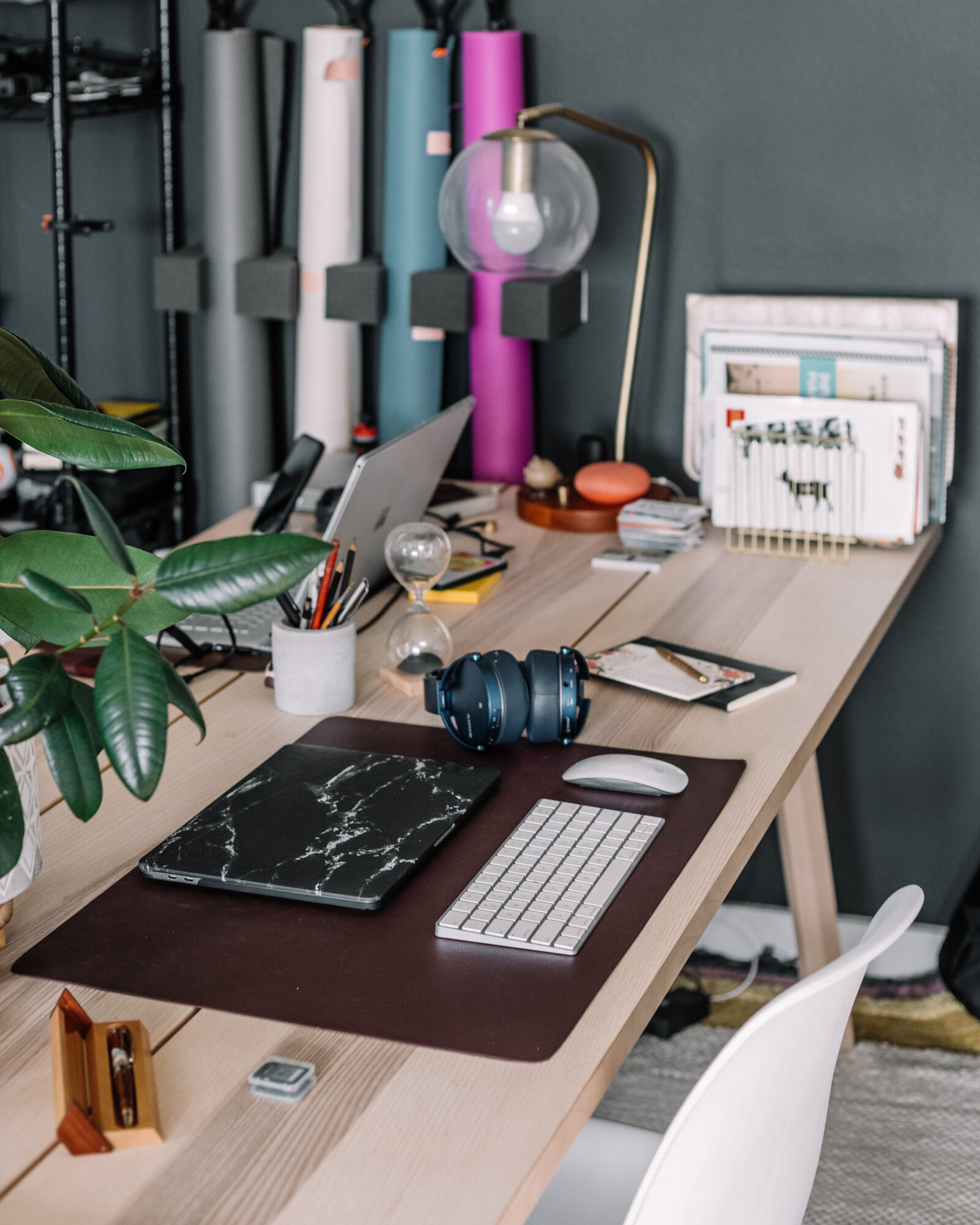 Rachel Off Duty: Home Office Space and Decor