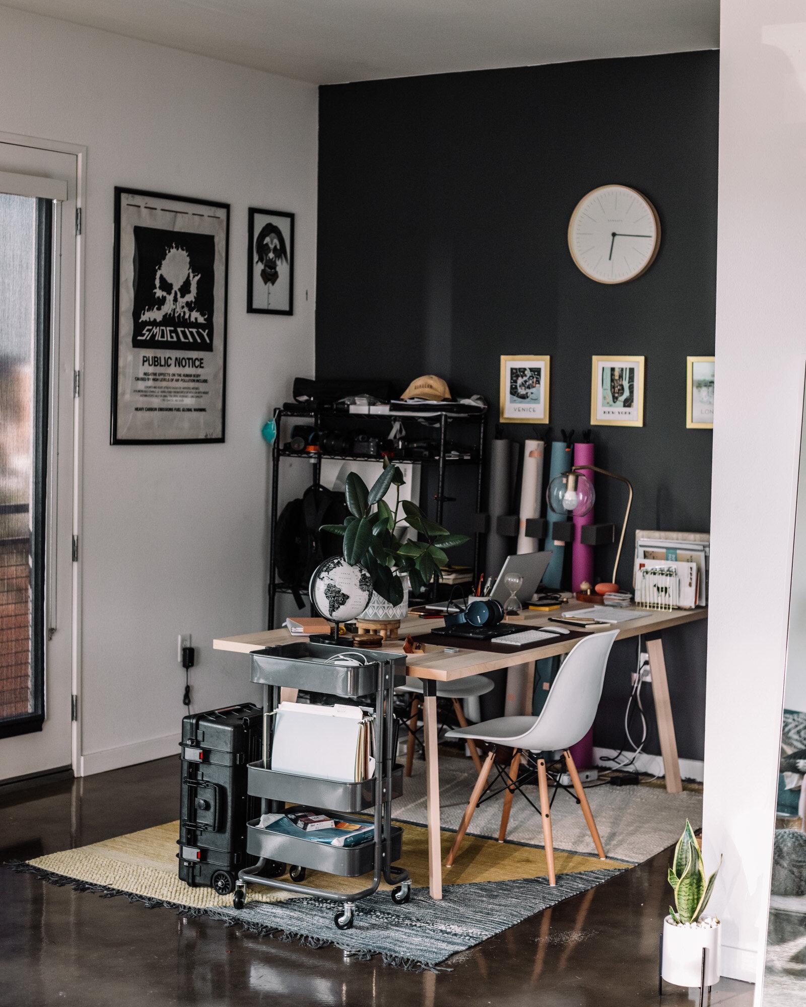 Rachel Off Duty: Home Office Decor