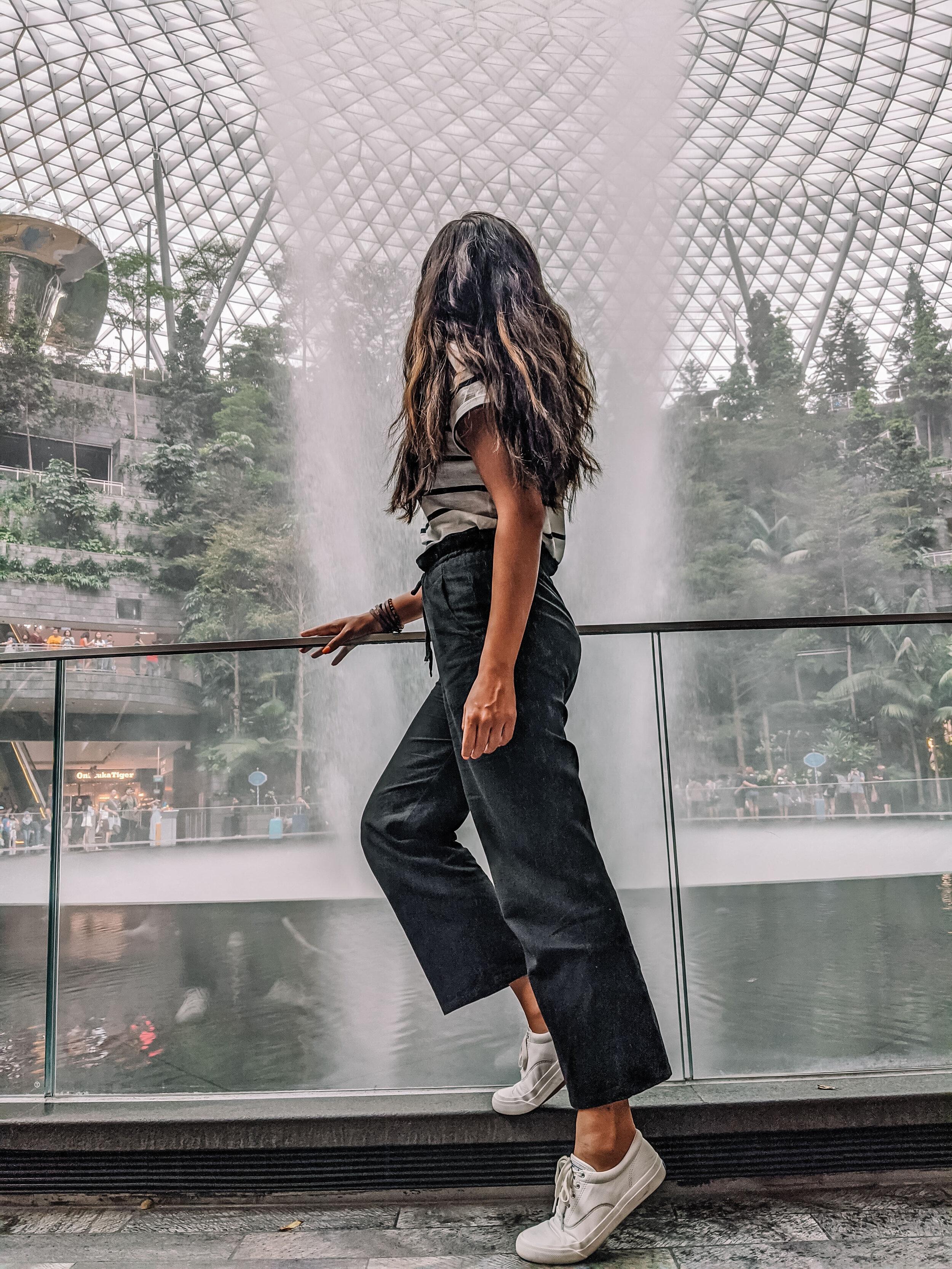Rachel Off Duty: Rachel at Jewel Changi Airport