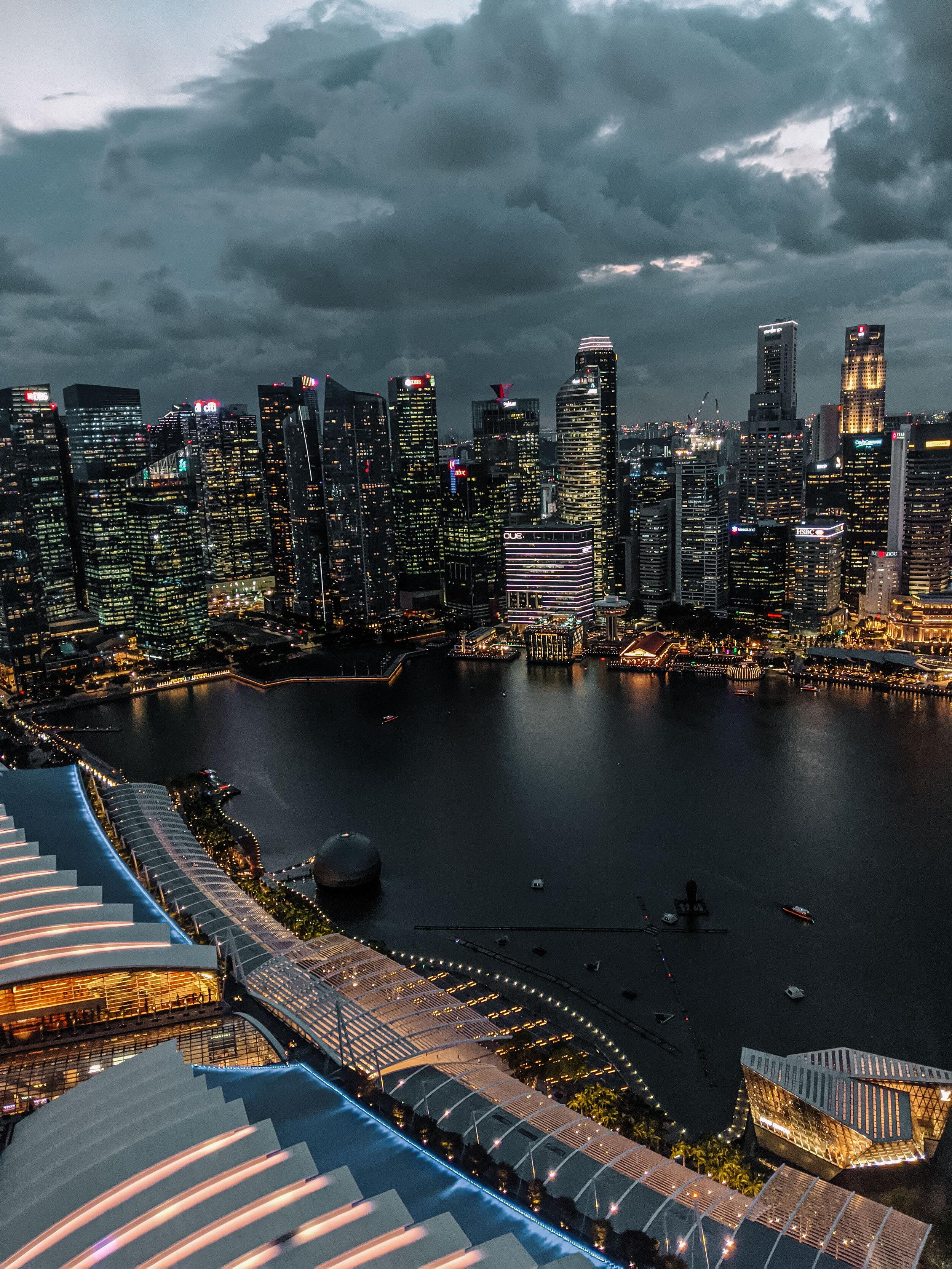 Rachel Off Duty: Singapore Skyline from Marina Bay Sands