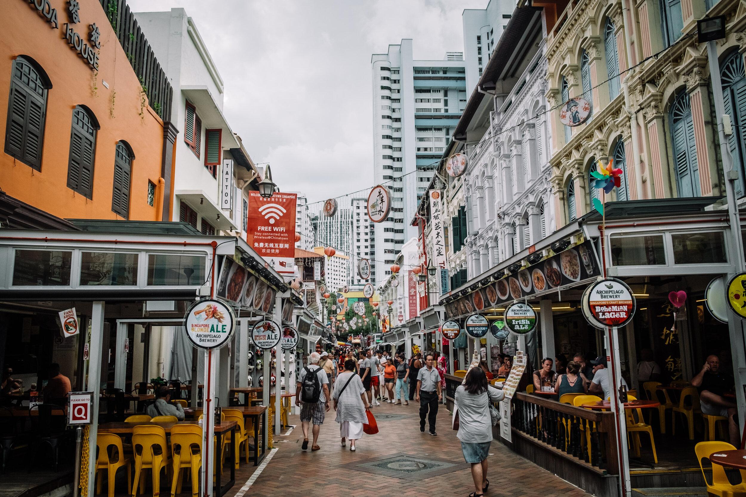 Rachel Off Duty: Chinatown in Singapore