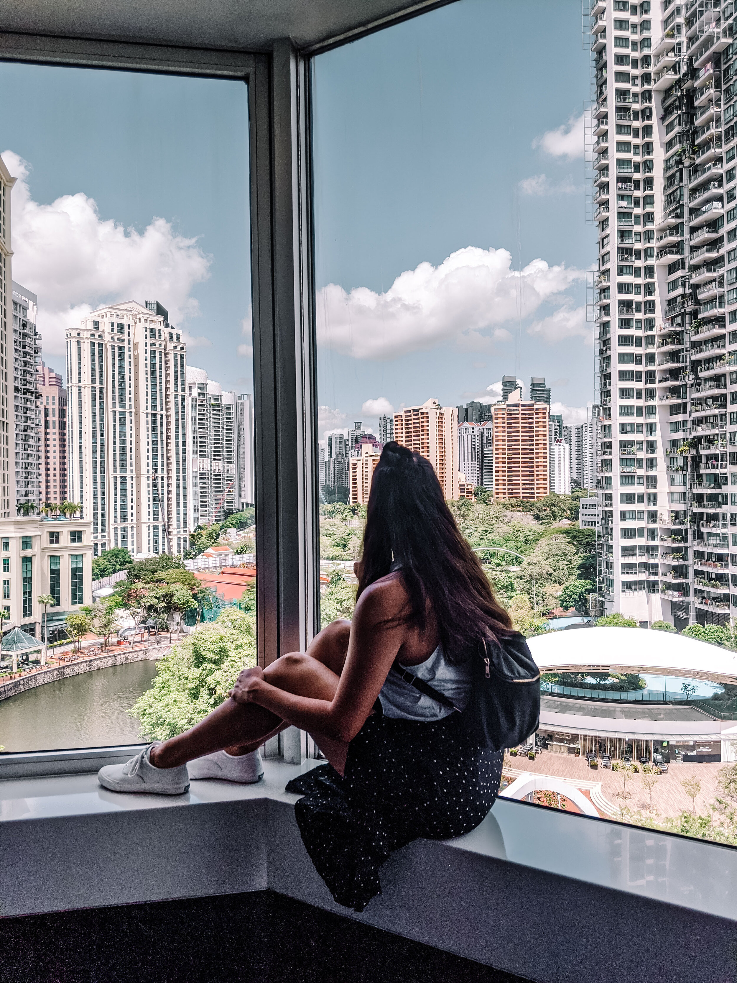 Rachel Off Duty: View of Robertson Quay in Singapore
