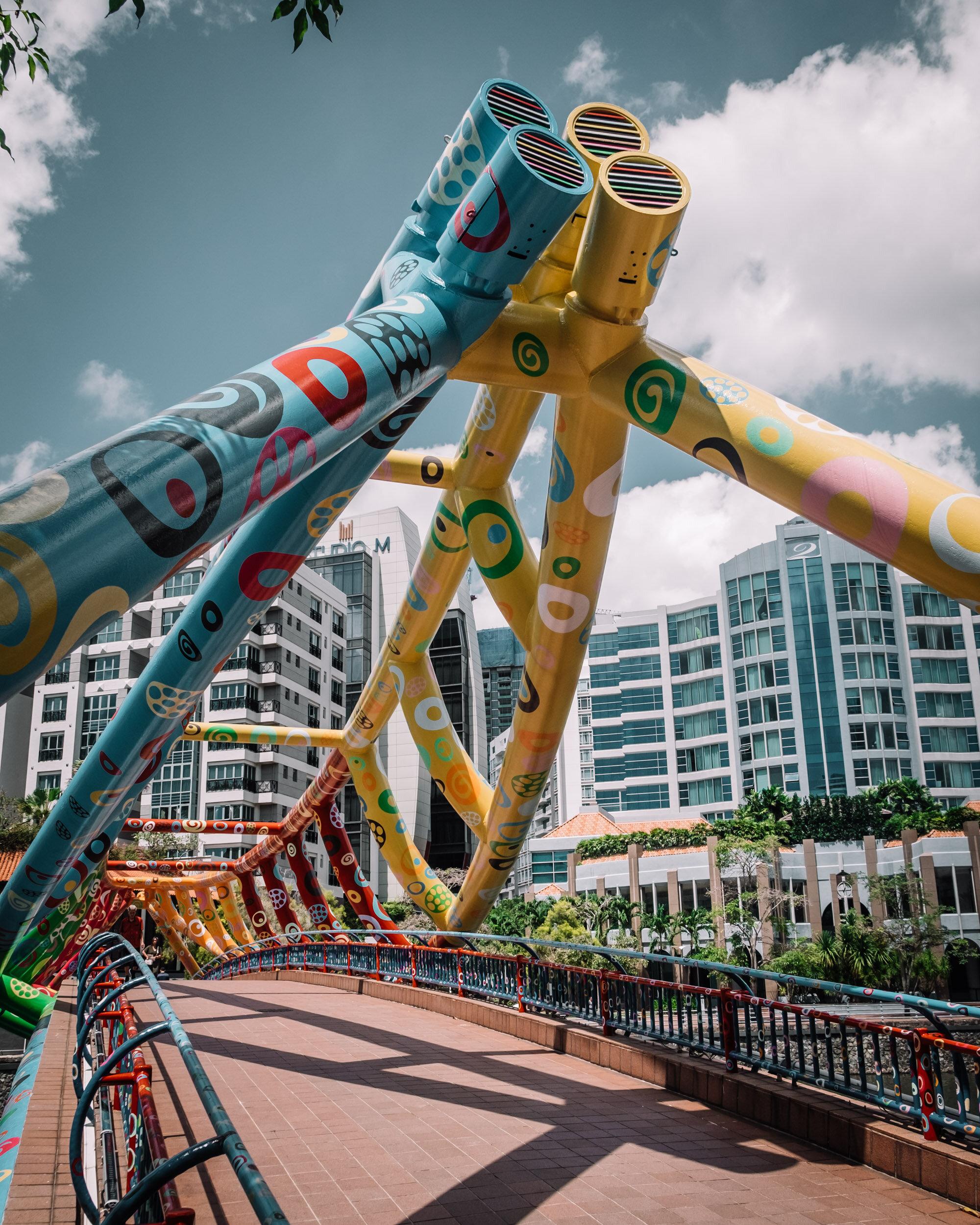 Rachel Off Duty: Alkaff Bridge in Singapore