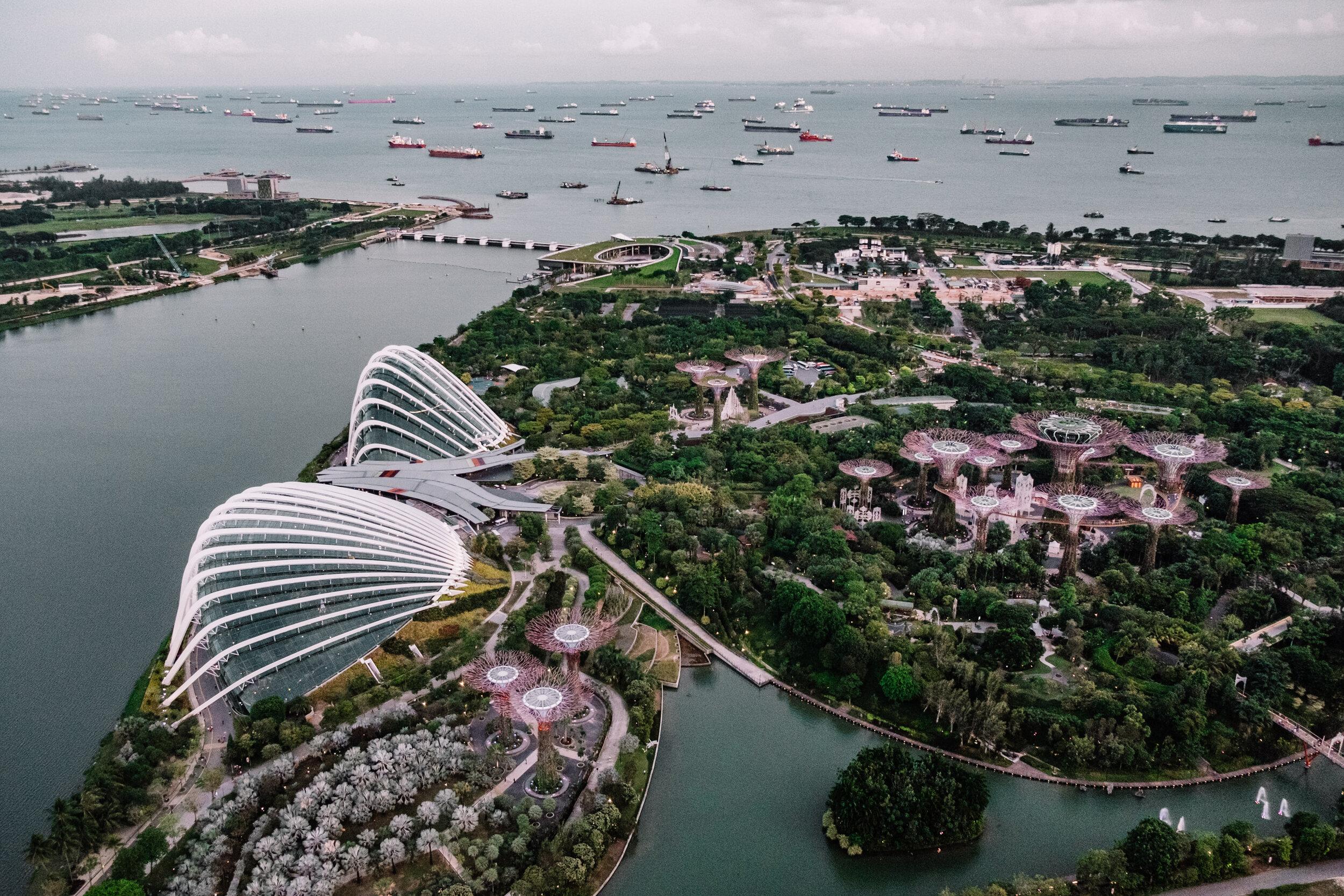 Rachel Off Duty: Marina Bay Sands SkyPark View