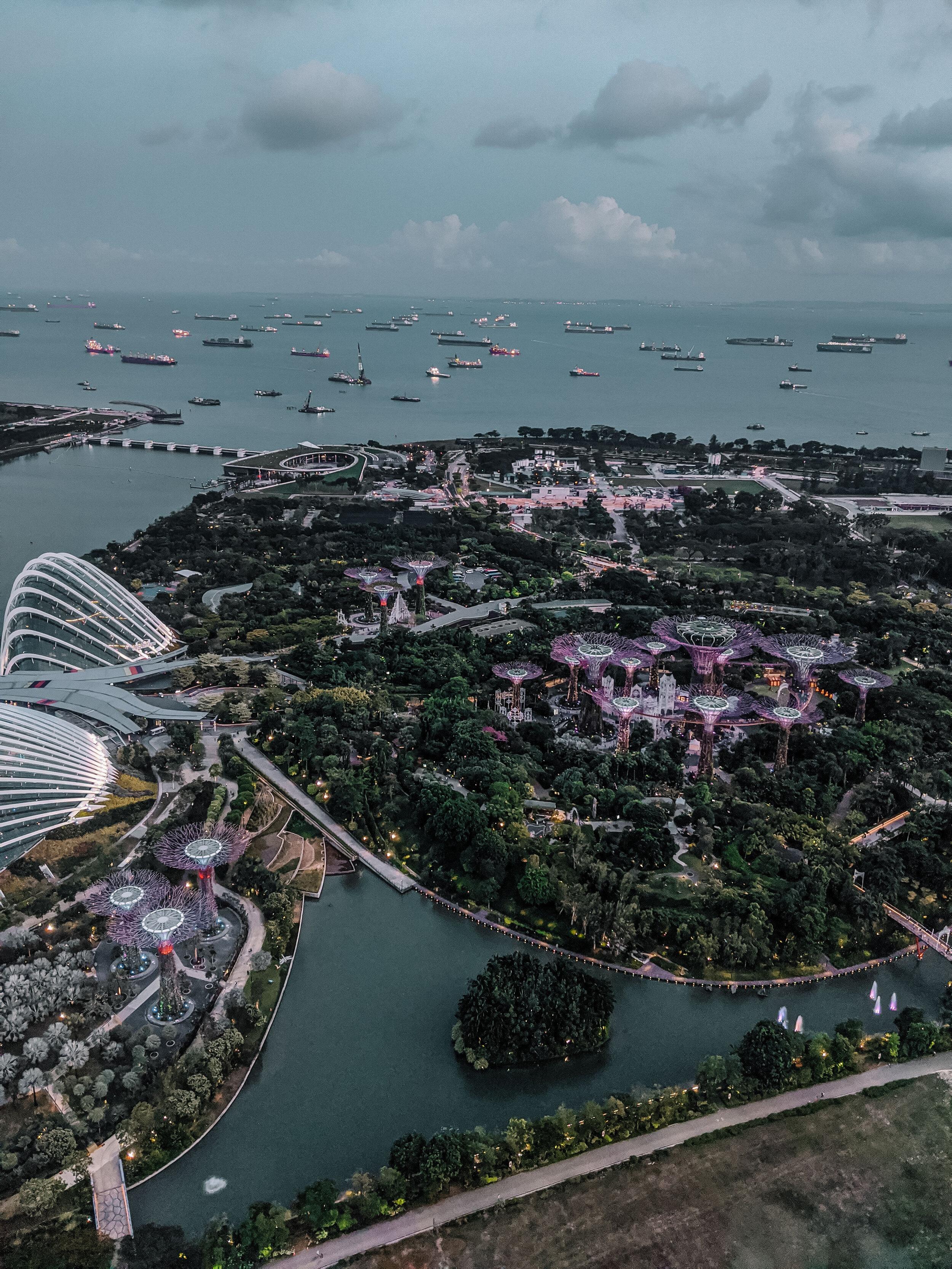 Rachel Off Duty: View from Marina Bay Sands SkyPark