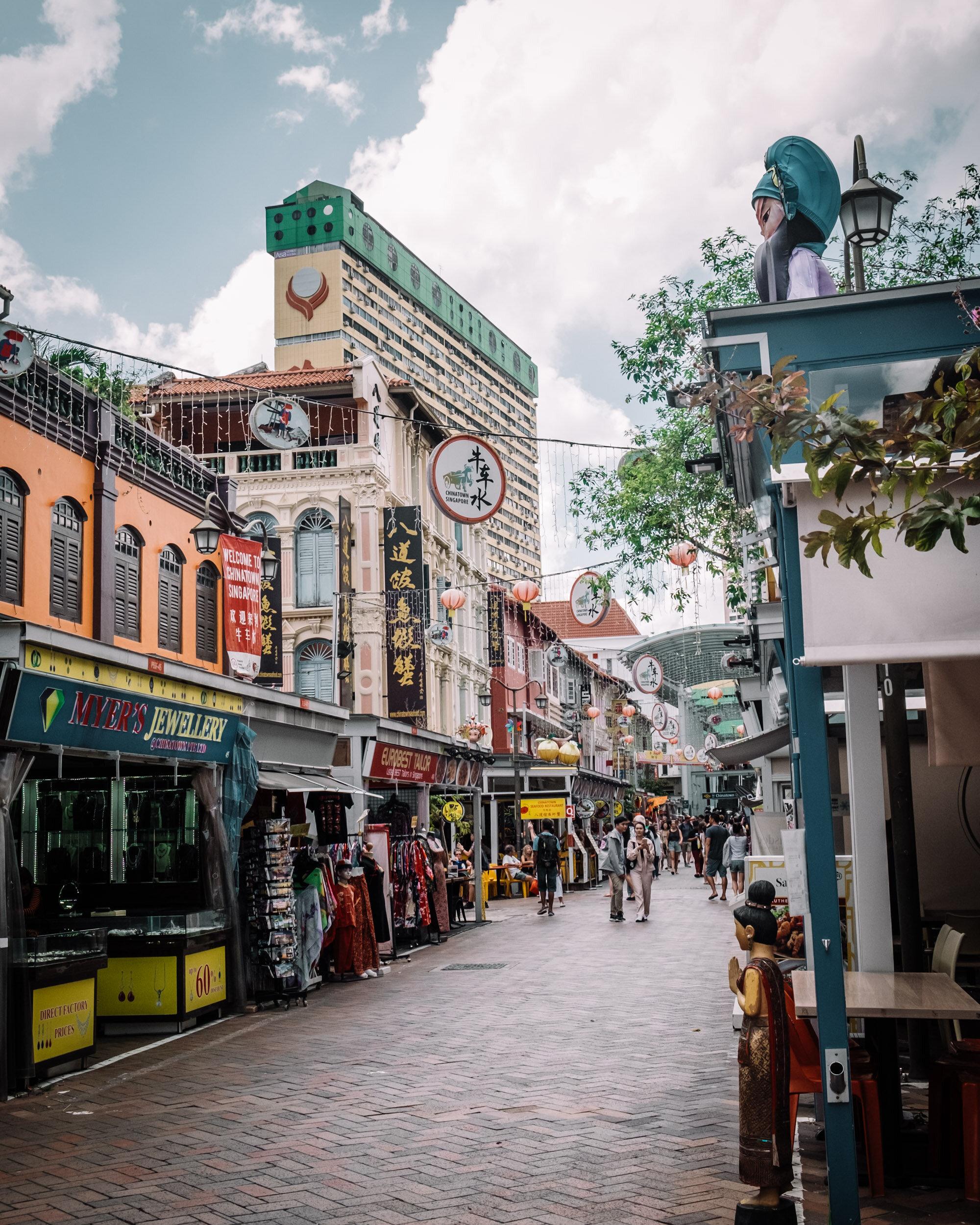 Rachel Off Duty: Chinatown, Singapore