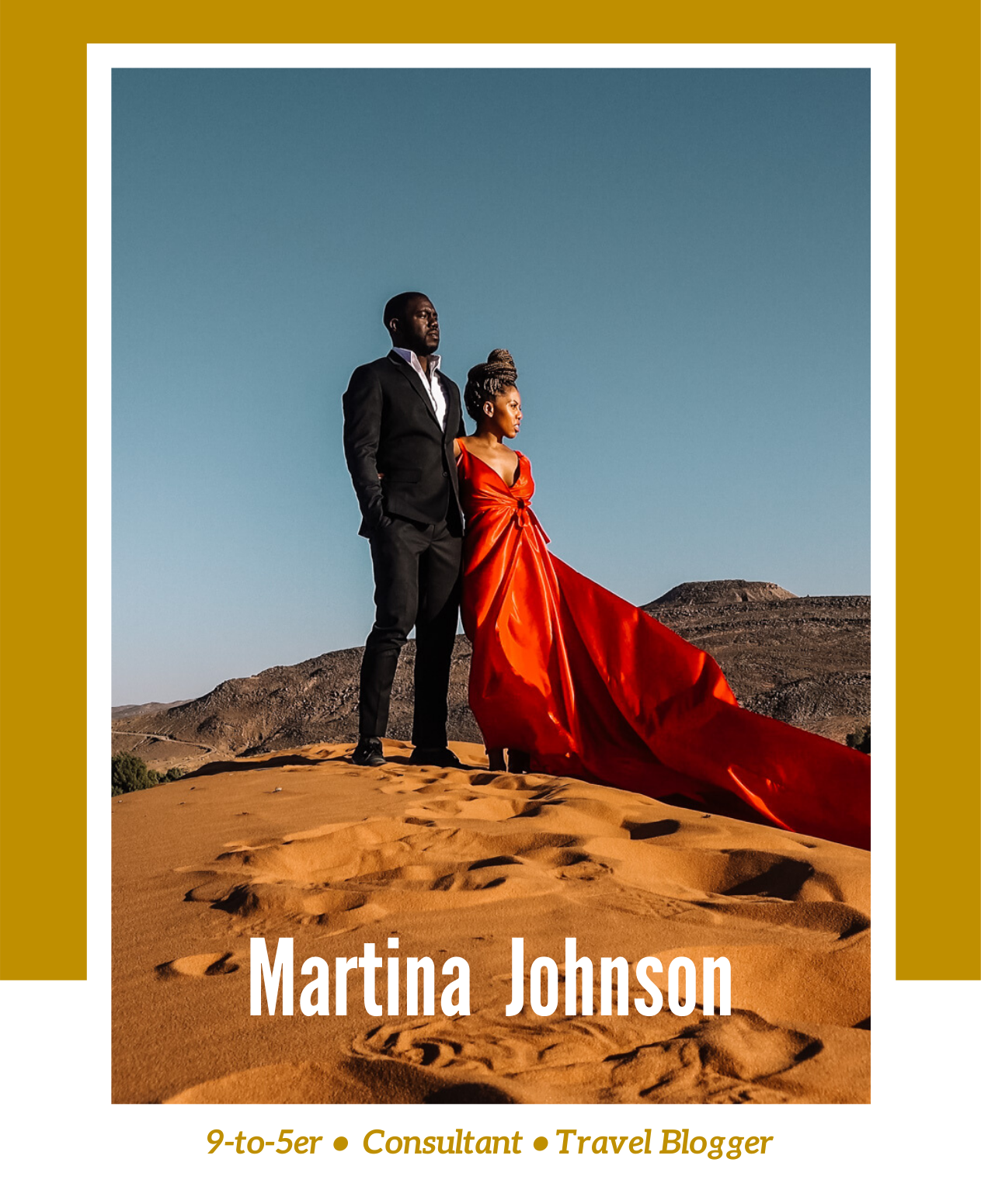 Rachel Off Duty: Stories Beyond Stories Beyond the 9-to-5: Martina Johnson