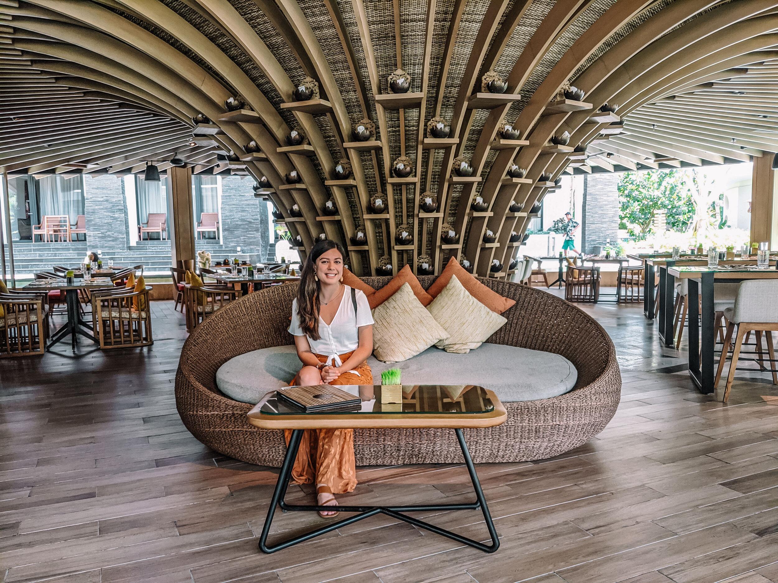 Rachel Off Duty: Woman in a Resort in Nusa Dua, Bali