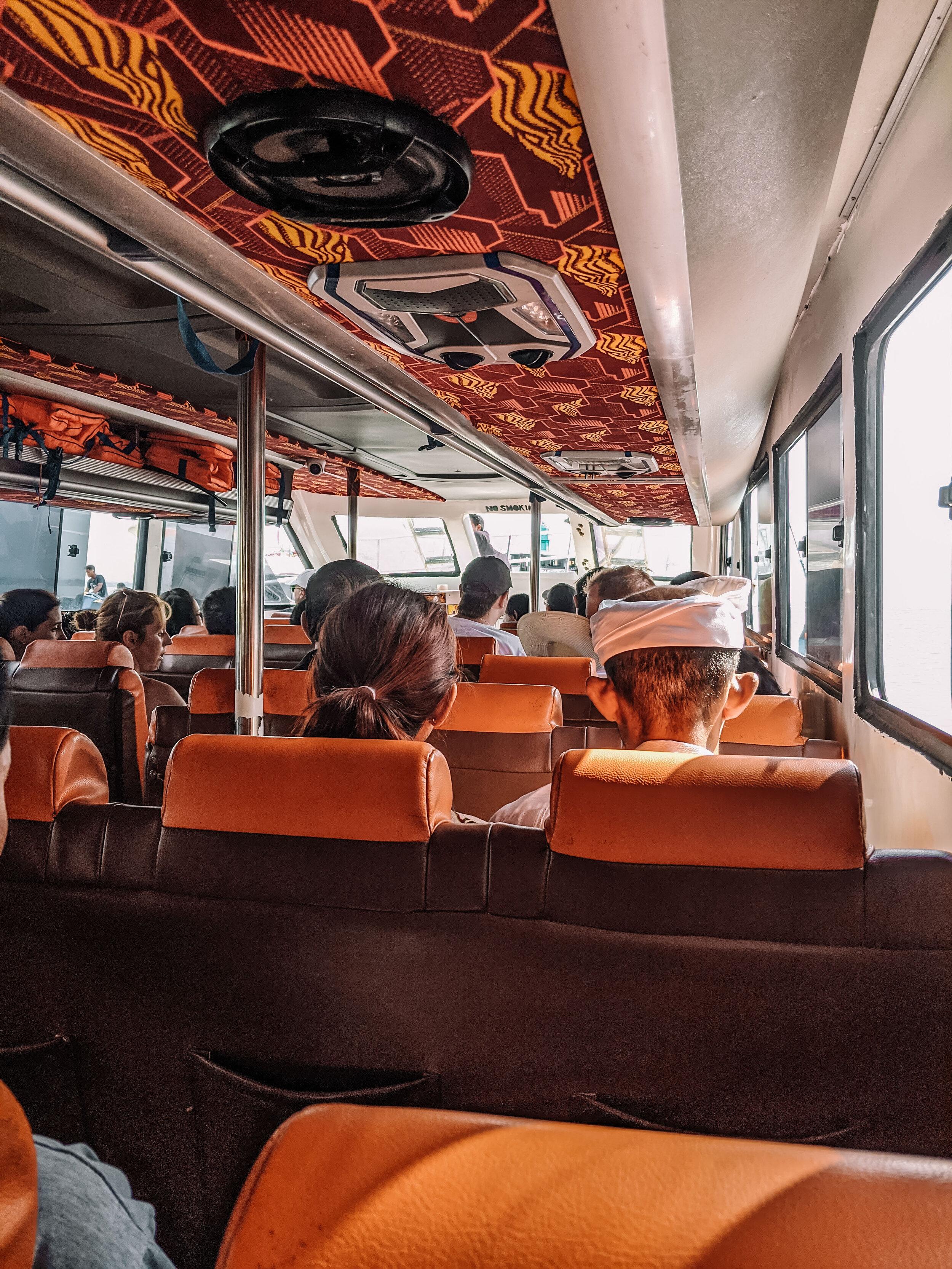 Rachel Off Duty: Ferry to Nusa Penida
