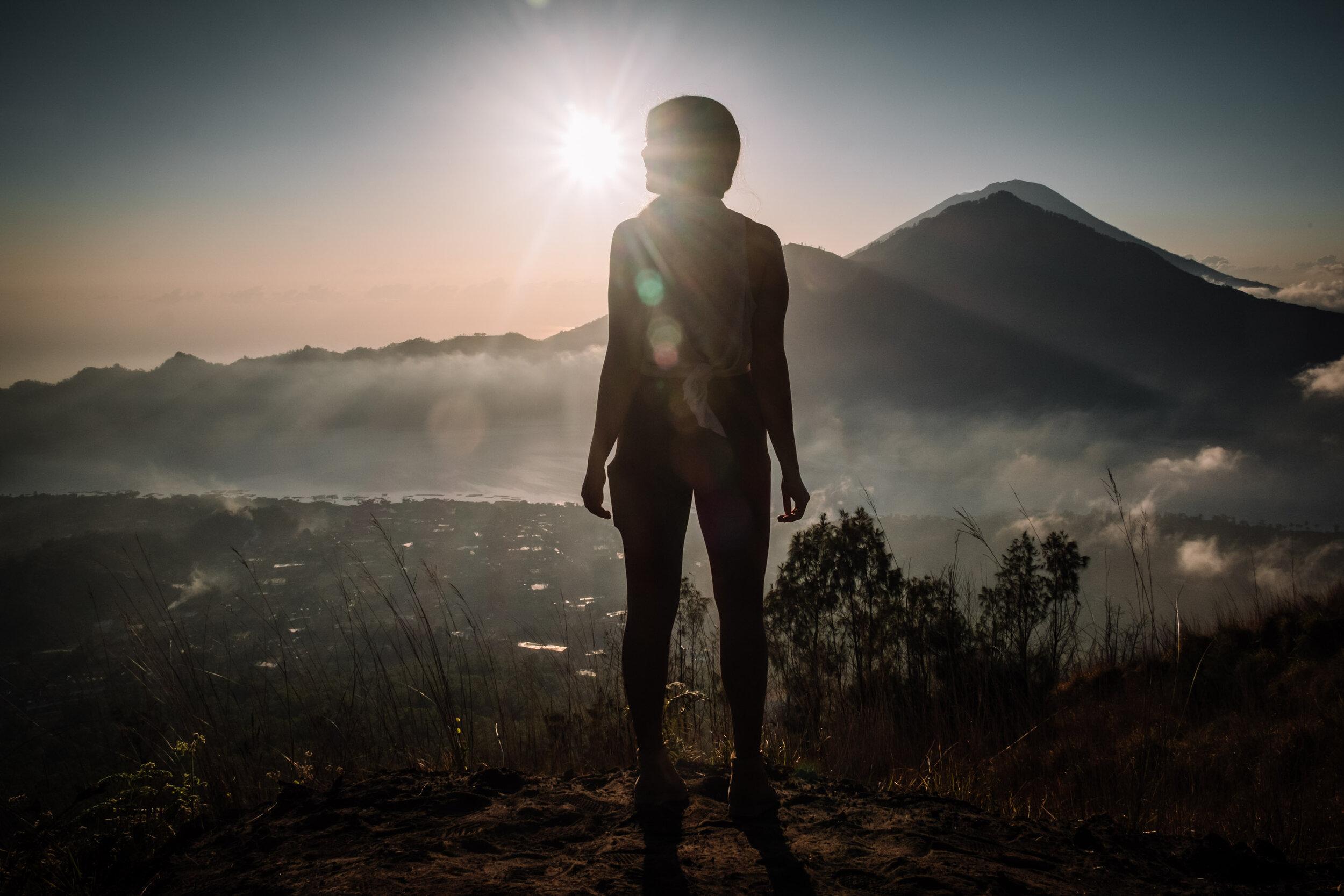 Rachel Off Duty: Woman Hiking in Bali