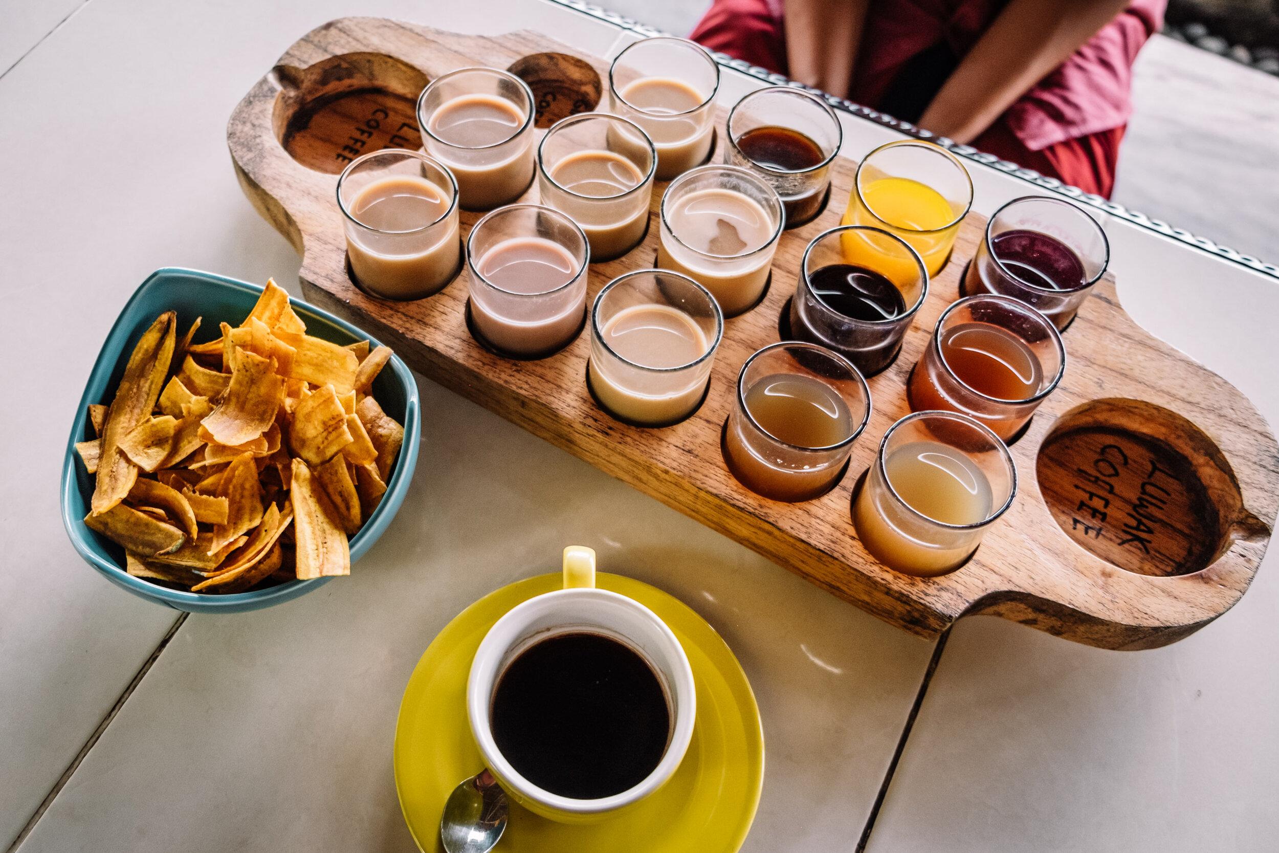 Rachel Off Duty: Coffee and Tea Plantation in Bali