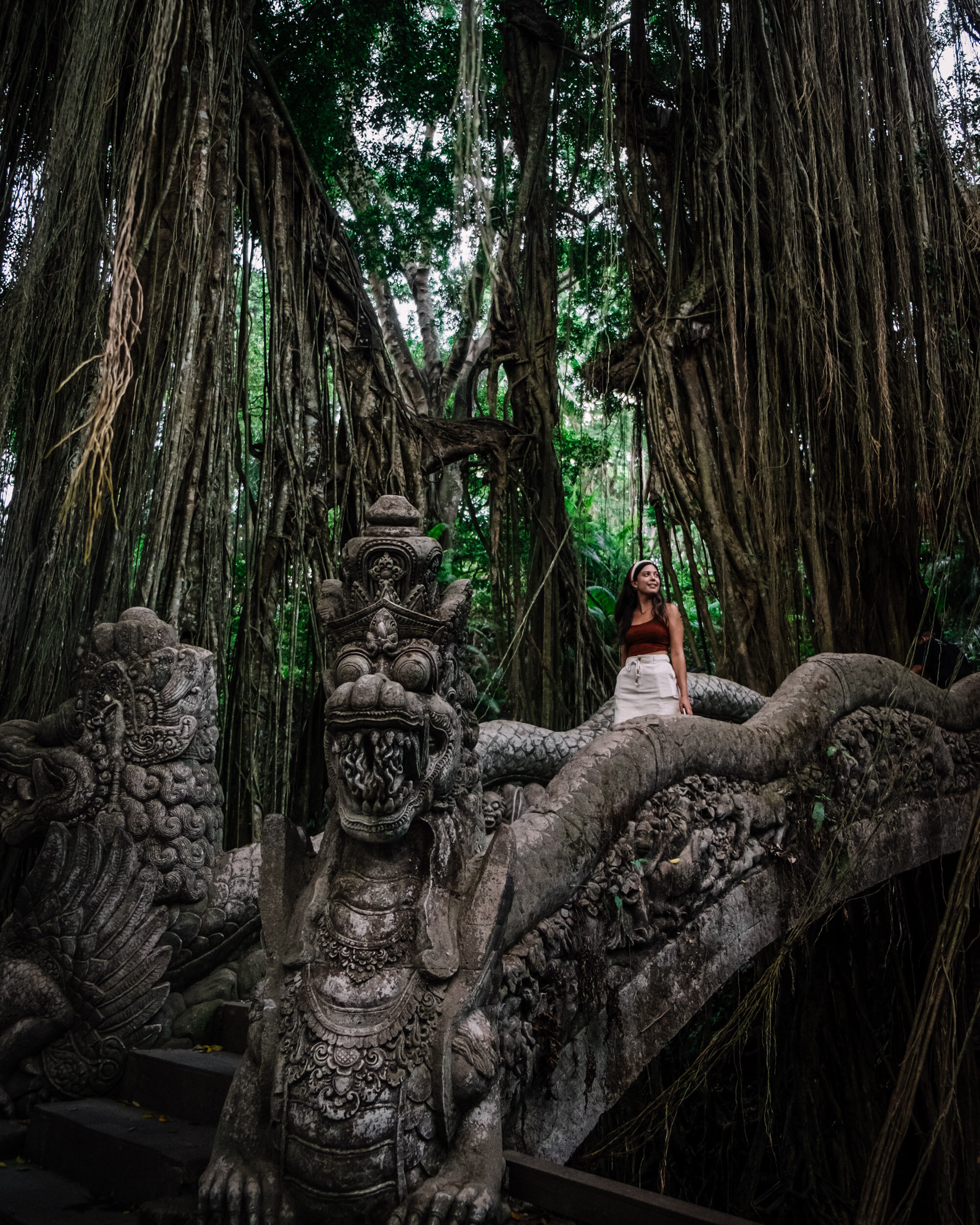 Rachel Off Duty: Woman in Ubud Sacred Monkey Forest Sanctuary