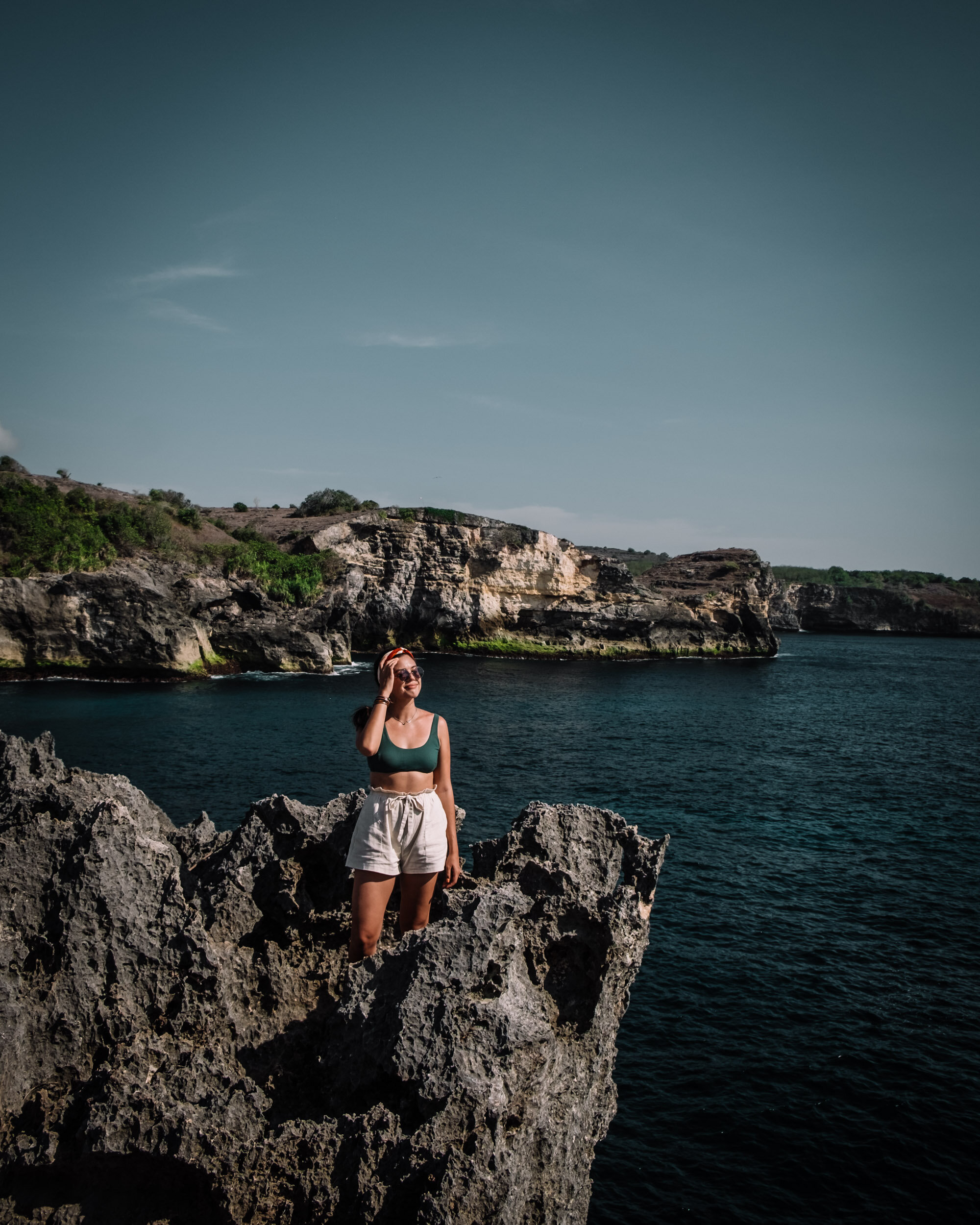 Rachel Off Duty: Woman at Angel's Billabong in Nusa Penida