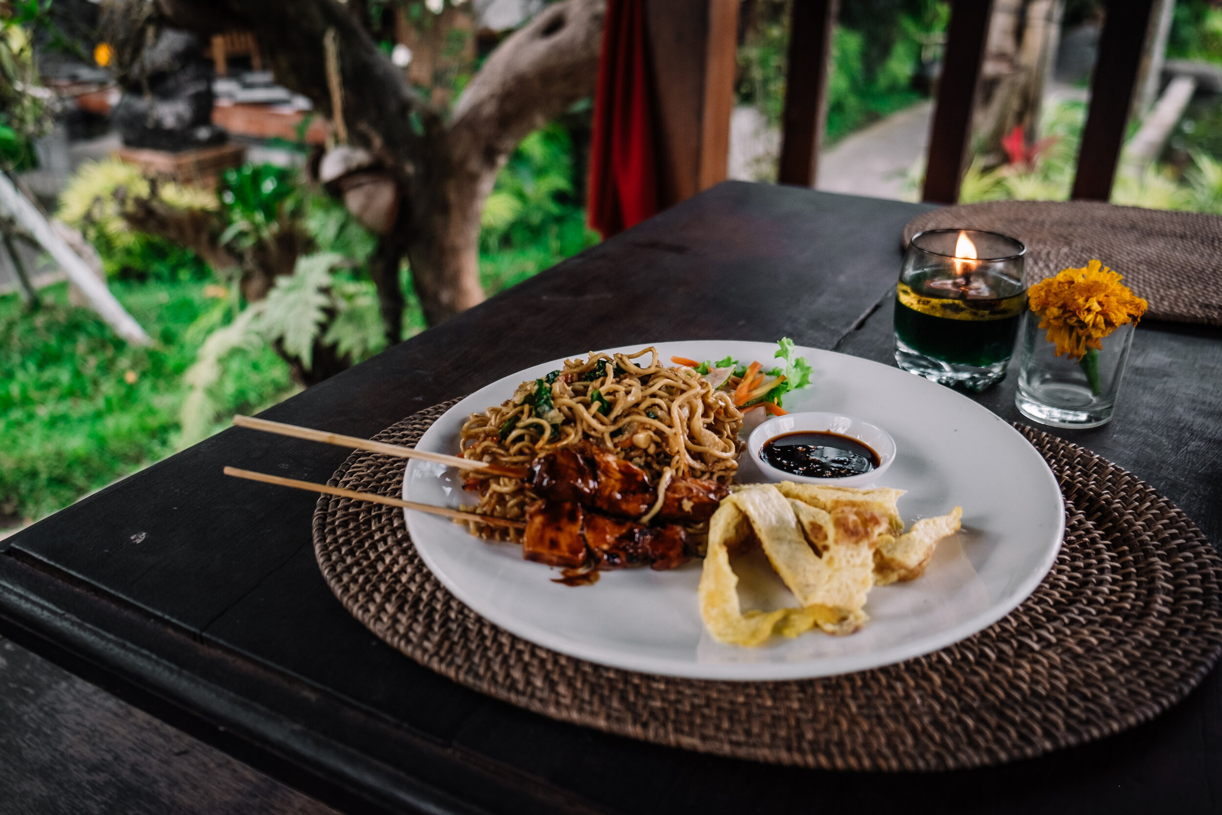 Rachel Off Duty: Mie Goreng in Bali Restaurant