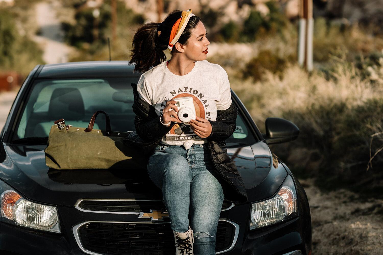 Rachel Off Duty: Woman on a Joshua Tree Road Trip
