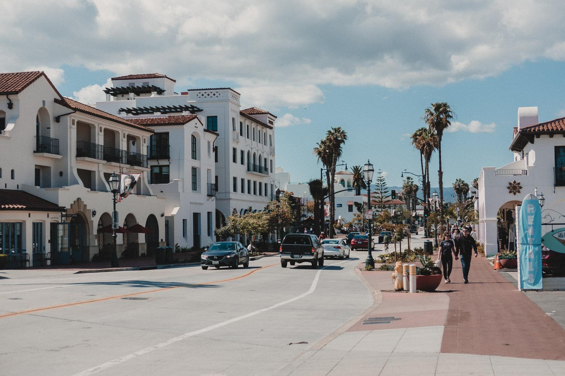 Rachel Off Duty: Downtown Santa Barbara, California