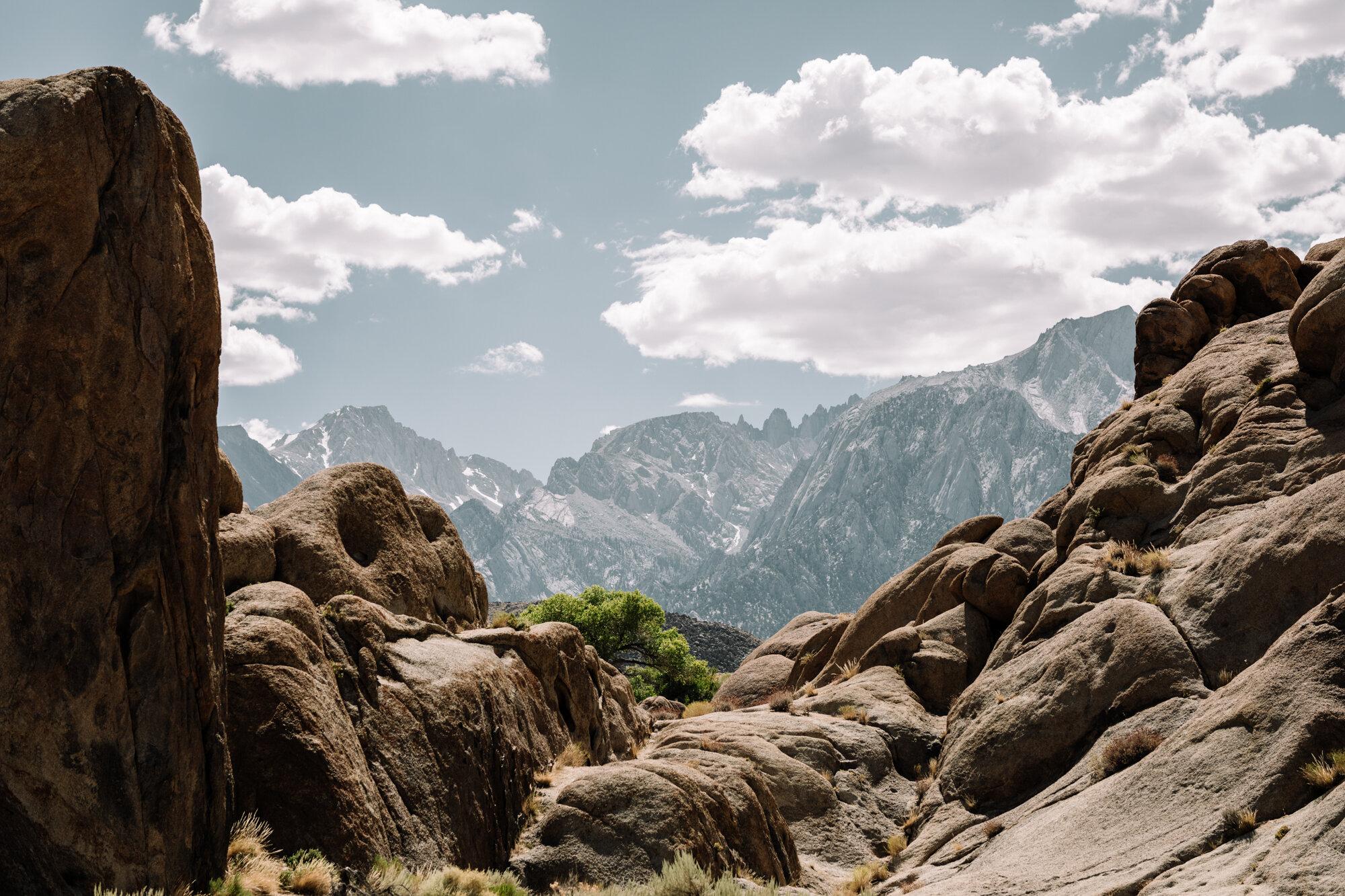 Rachel Off Duty: Alabama Hills and the Sierra Nevadas, California