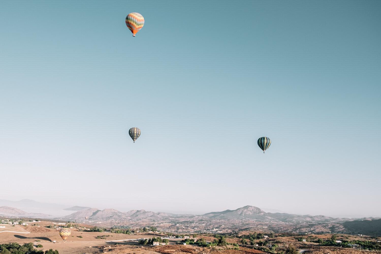 Rachel Off Duty: Hot Air Balloon Rides in Temecula Valley, California