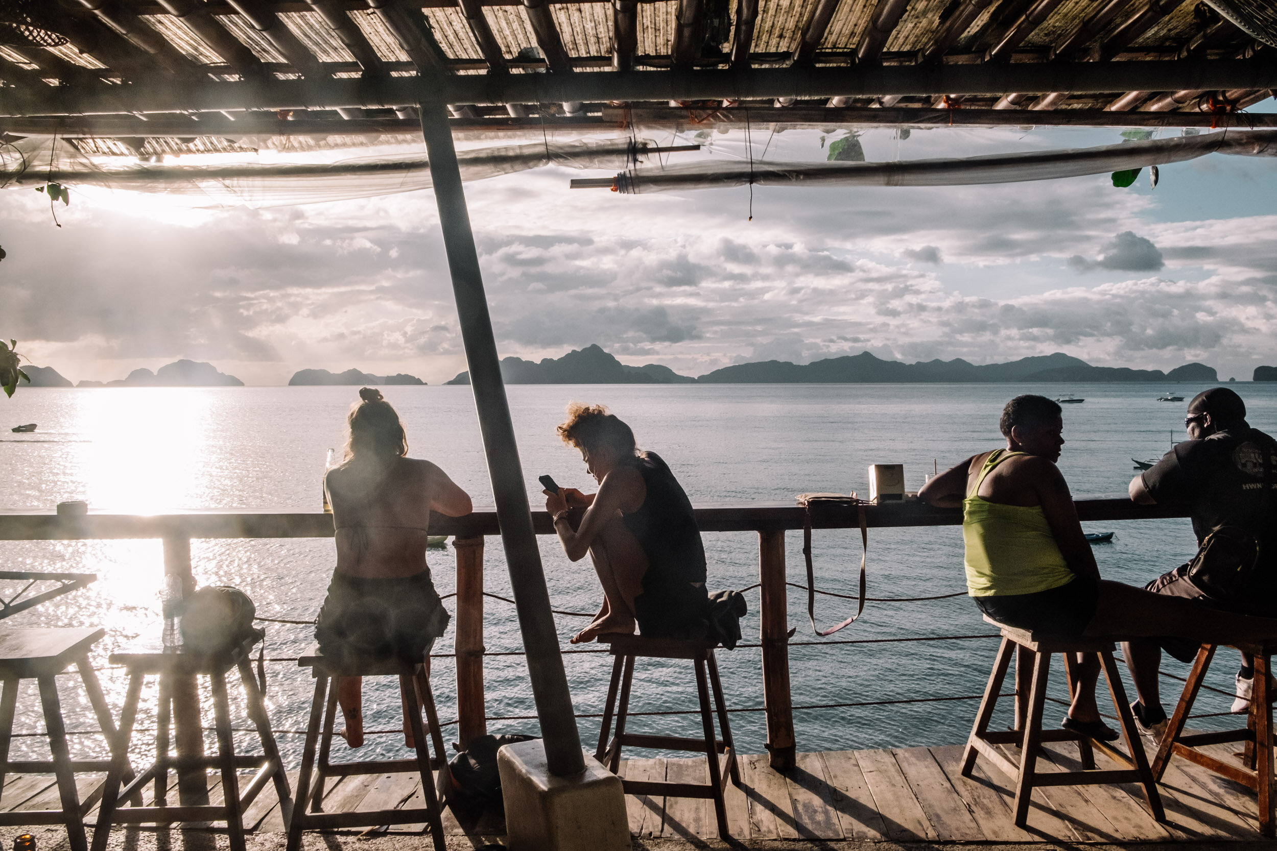 Rachel Off Duty: El Nido Hotel Review – Outpost Beach Hostel View