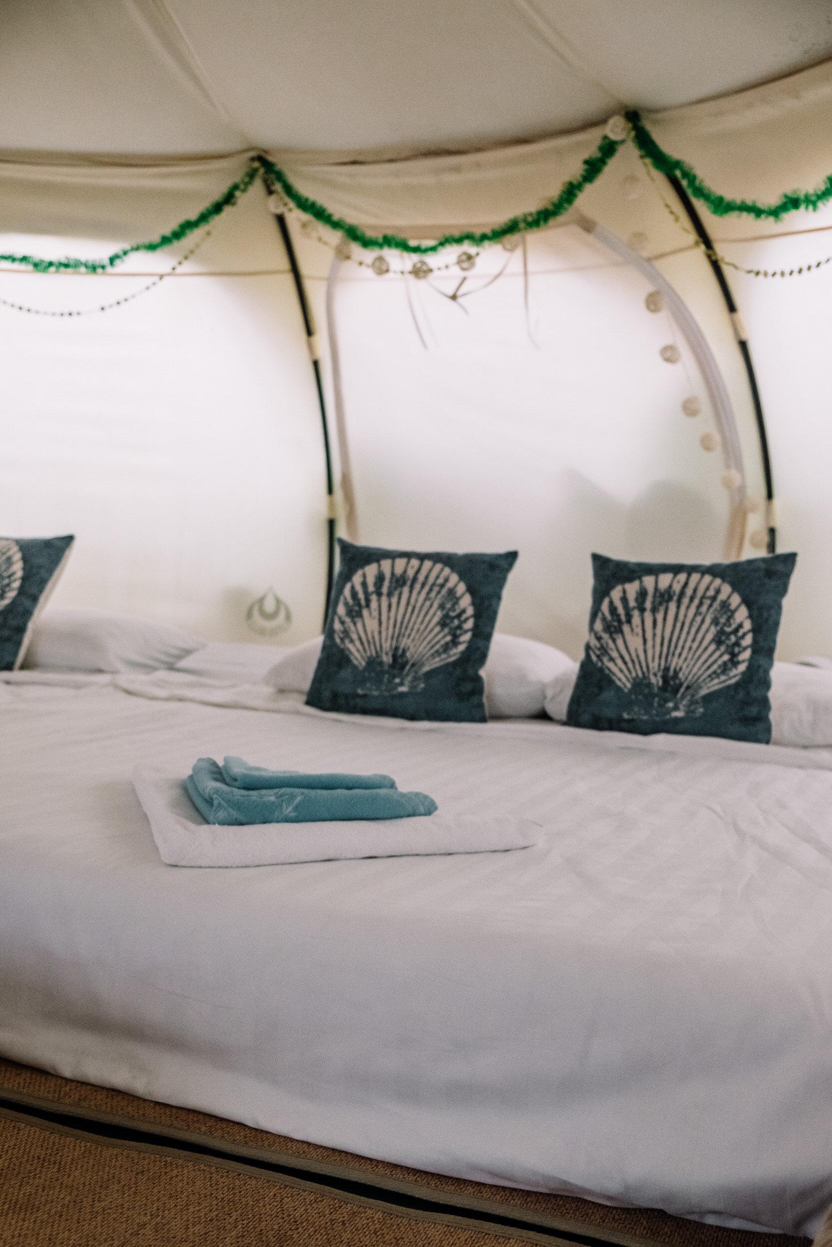 Rachel Off Duty: Inside of Nacpan Beach Glamping Tents