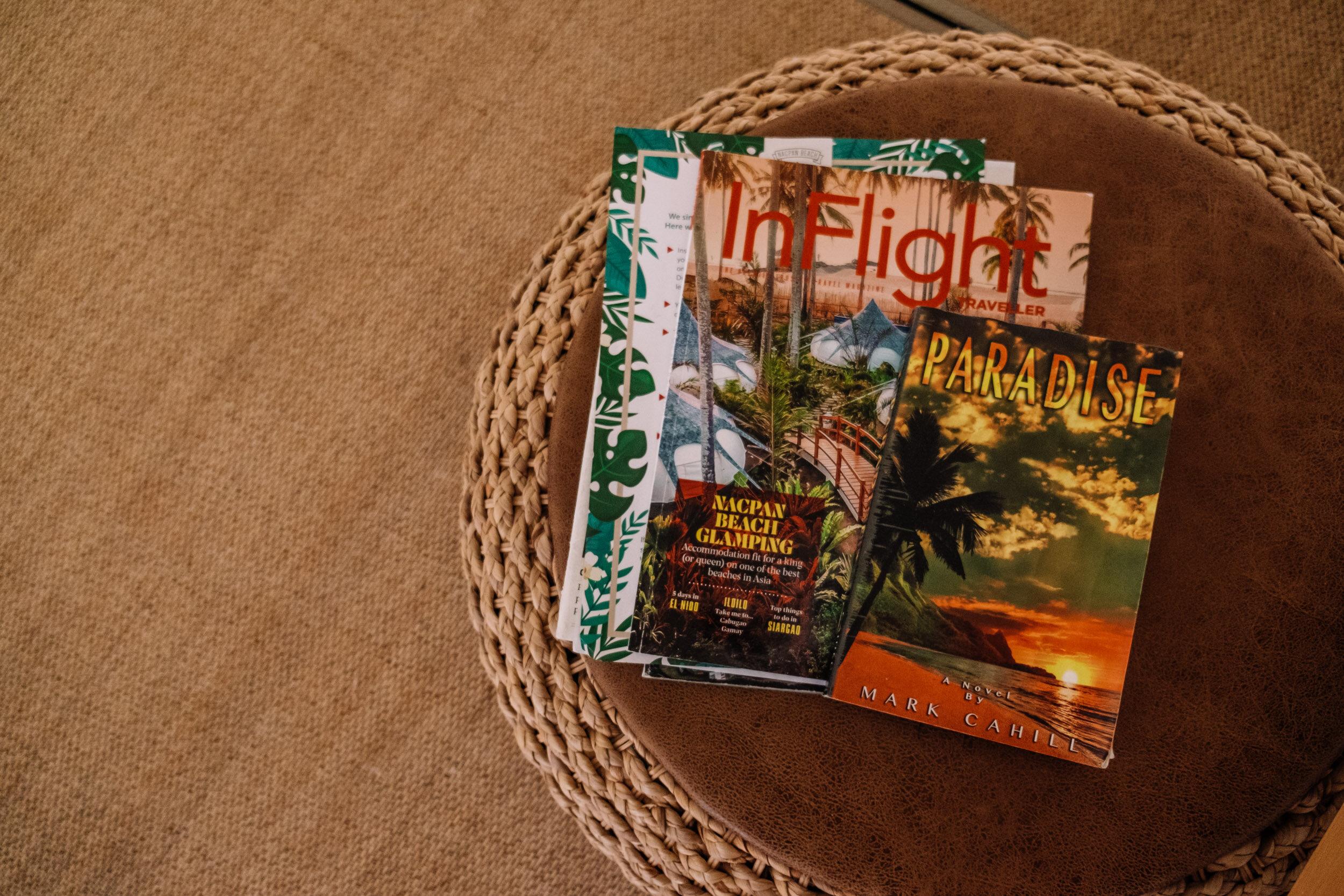 Rachel Off Duty: Magazines Inside Nacpan Beach Glamping Tents