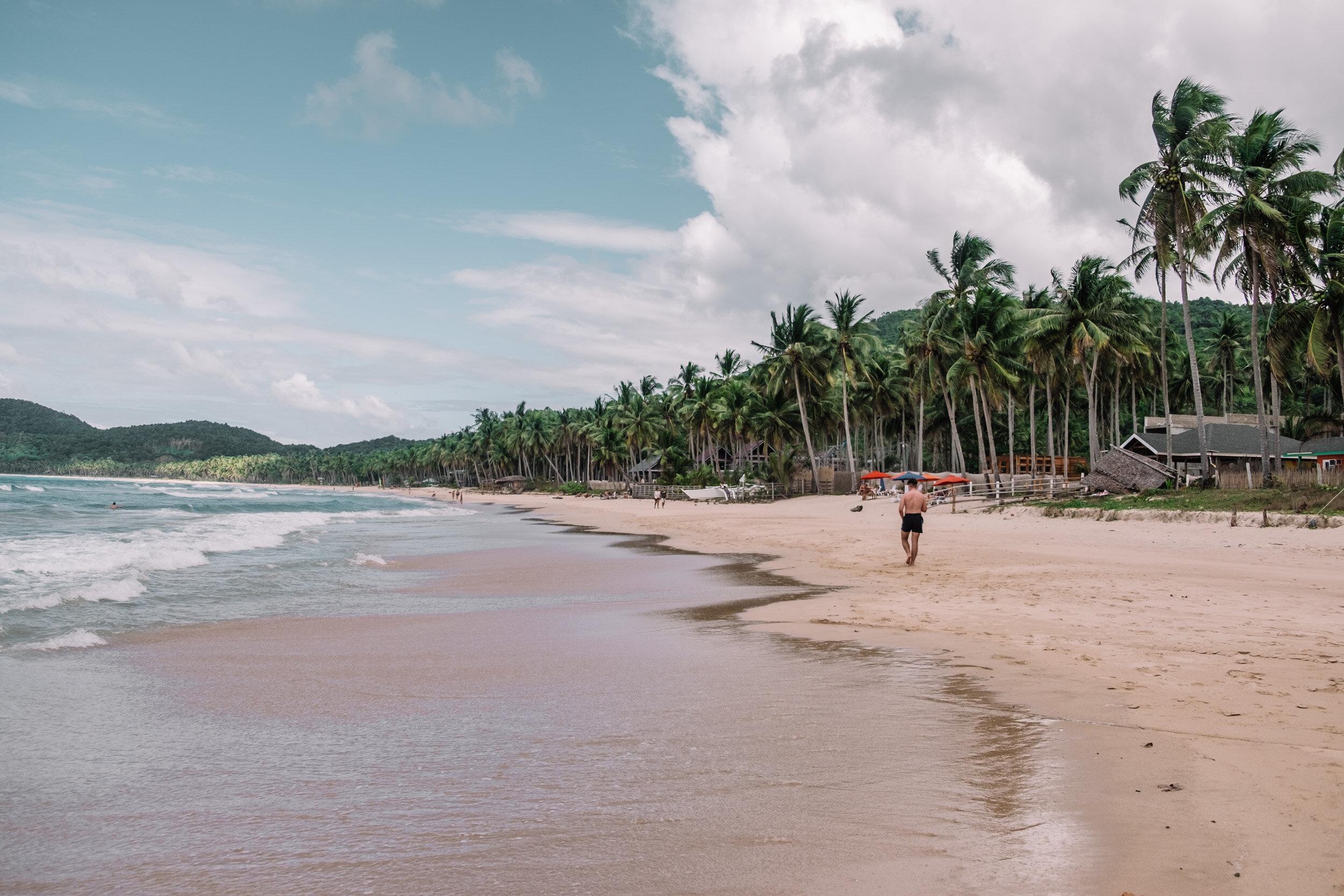 Rachel Off Duty: Nacpan Beach, El Nido, Philippines