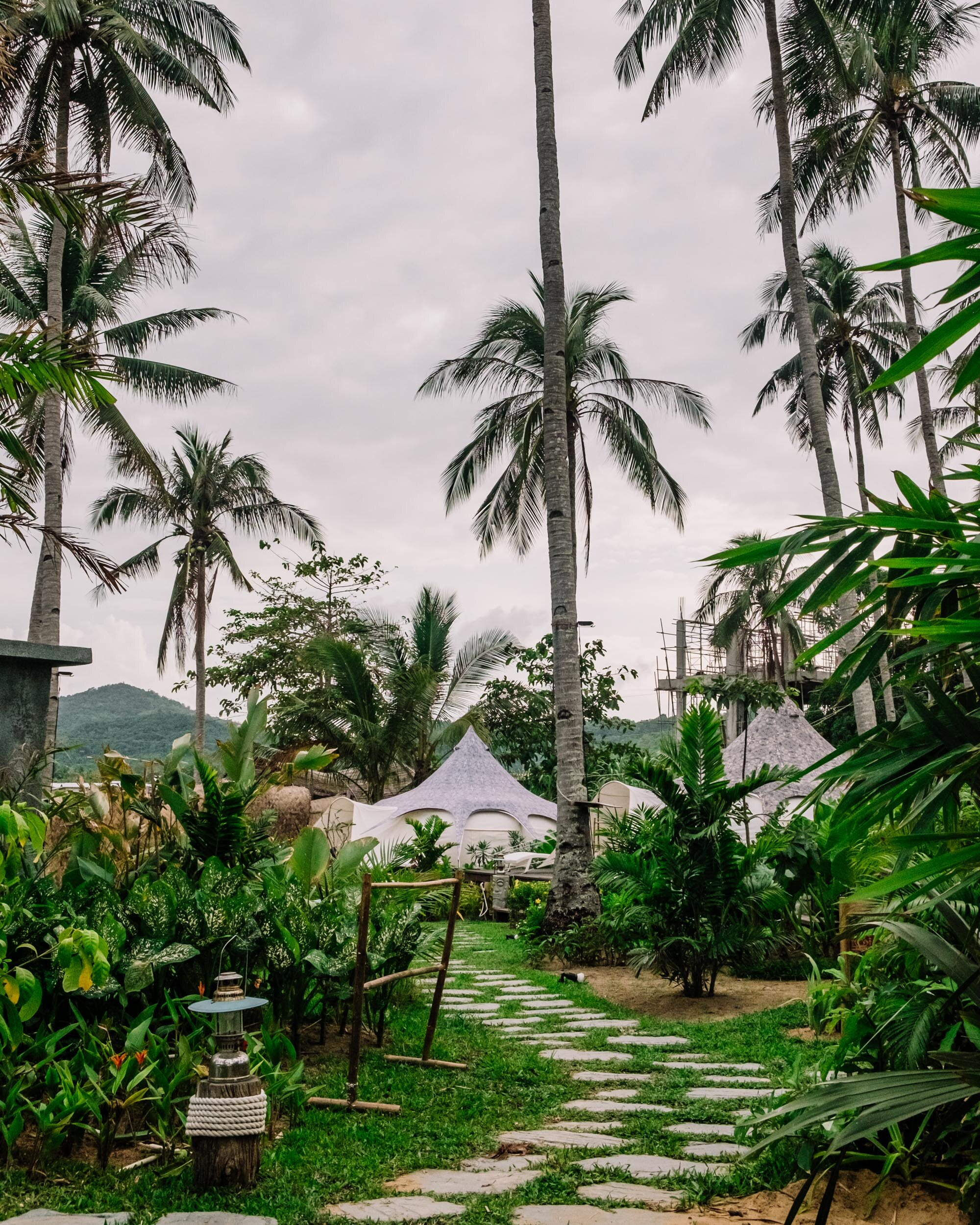 Rachel Off Duty: Nacpan Beach Glamping Tents, El Nido