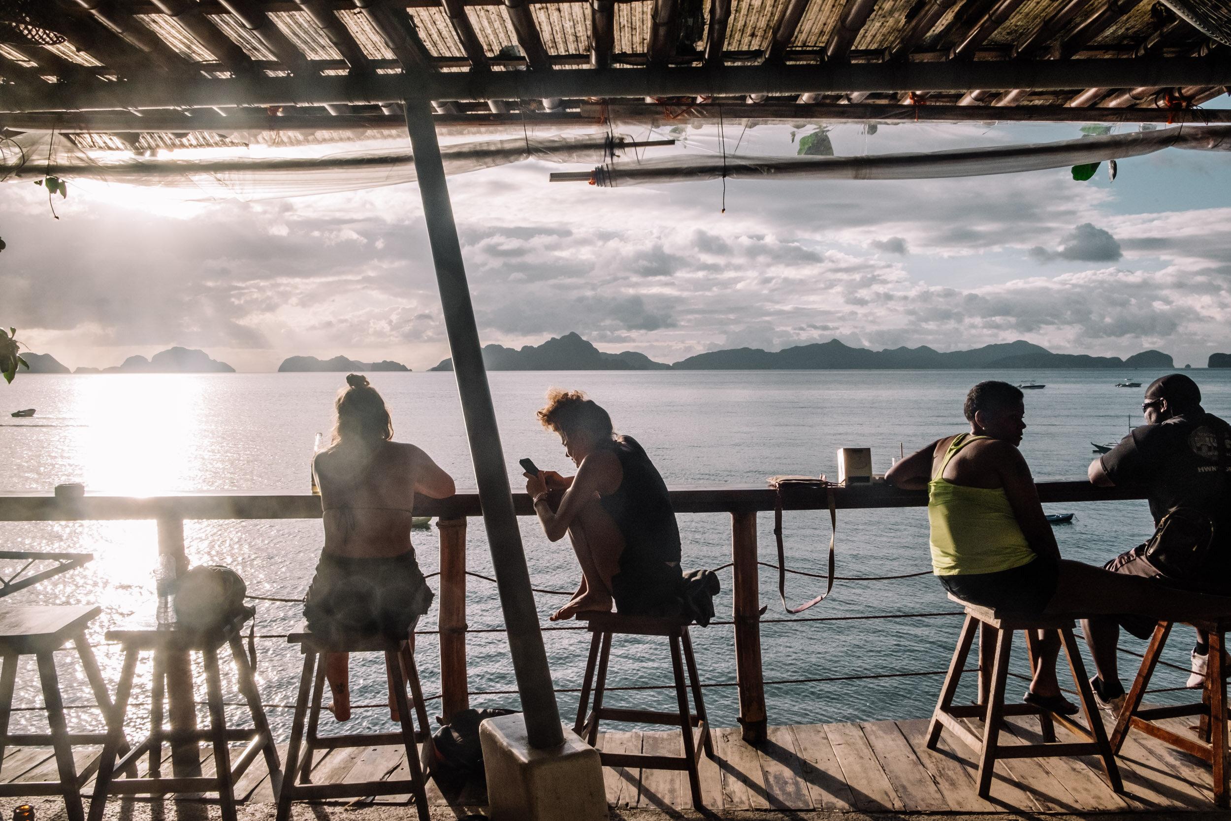 Rachel Off Duty: Hostel on Corong-Corong Beach, El Nido, Philippines
